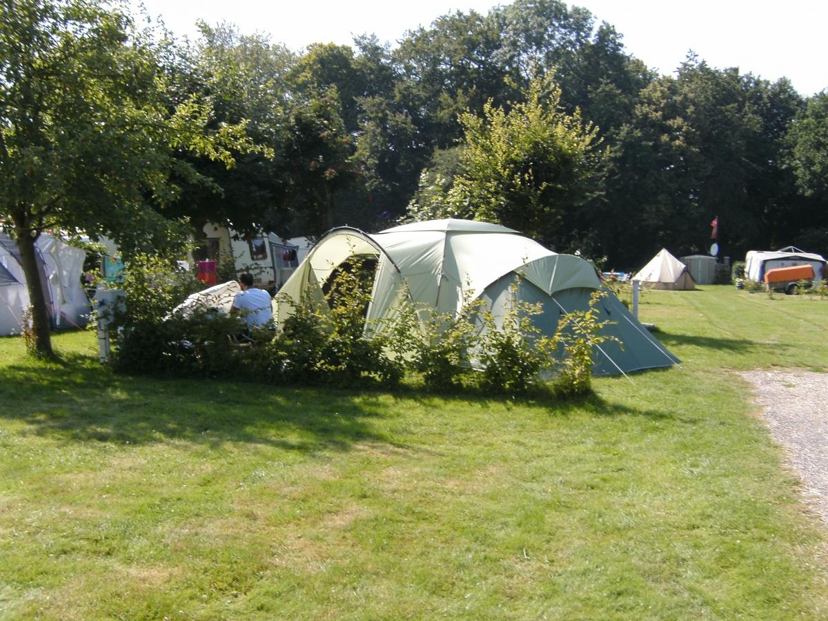Le camping en tente