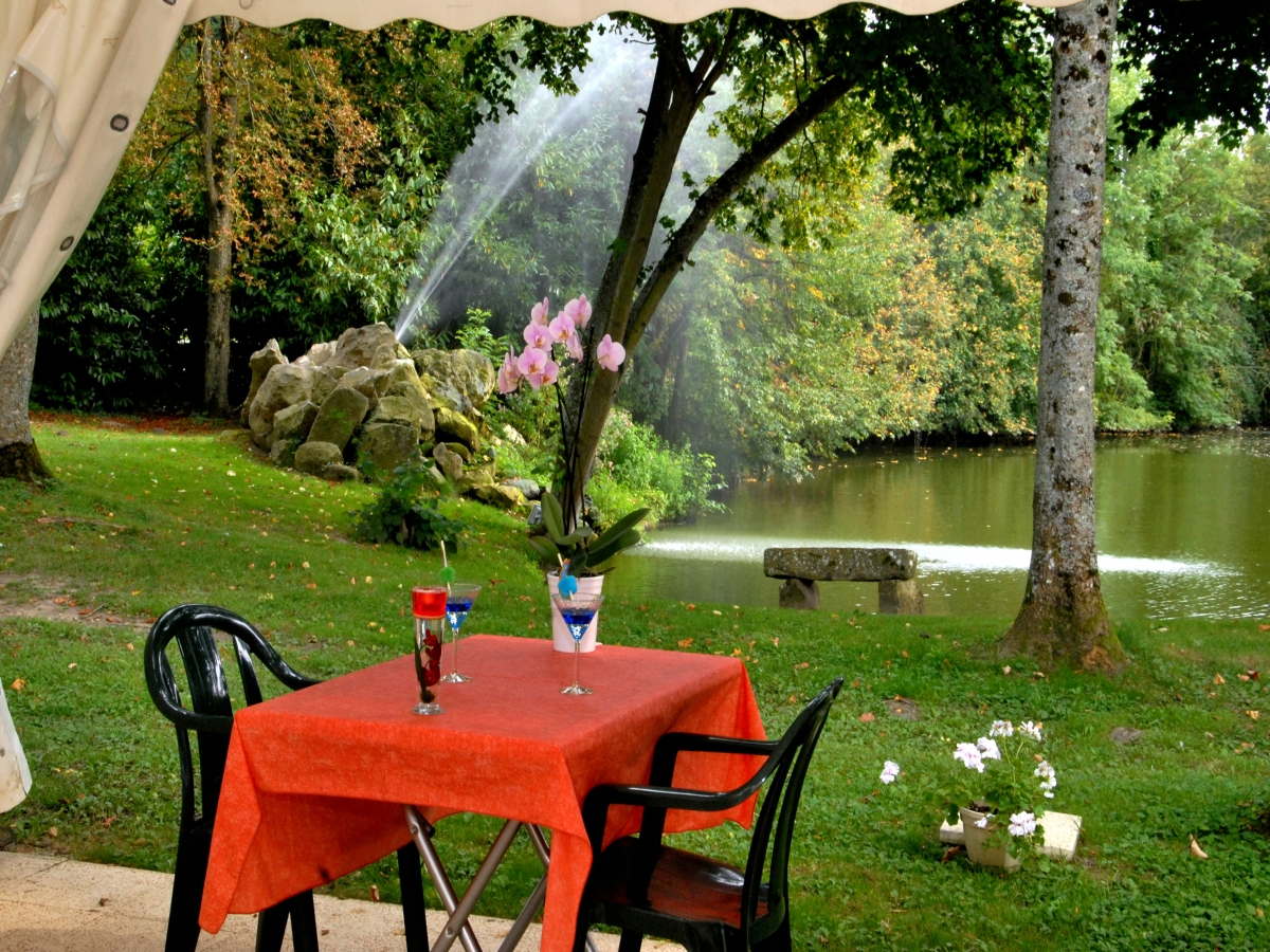 hotel restaurant terrasse parc nangis
