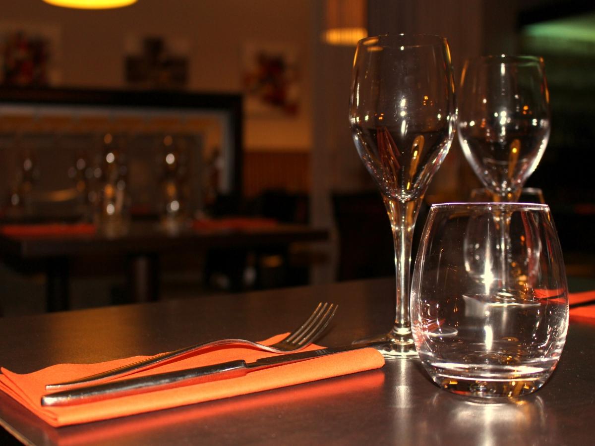 La table du Bistrot Gourmand