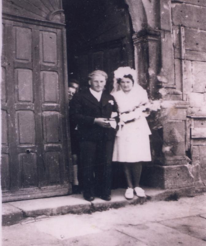 3eme génération Albert et Suzanne PIERRE