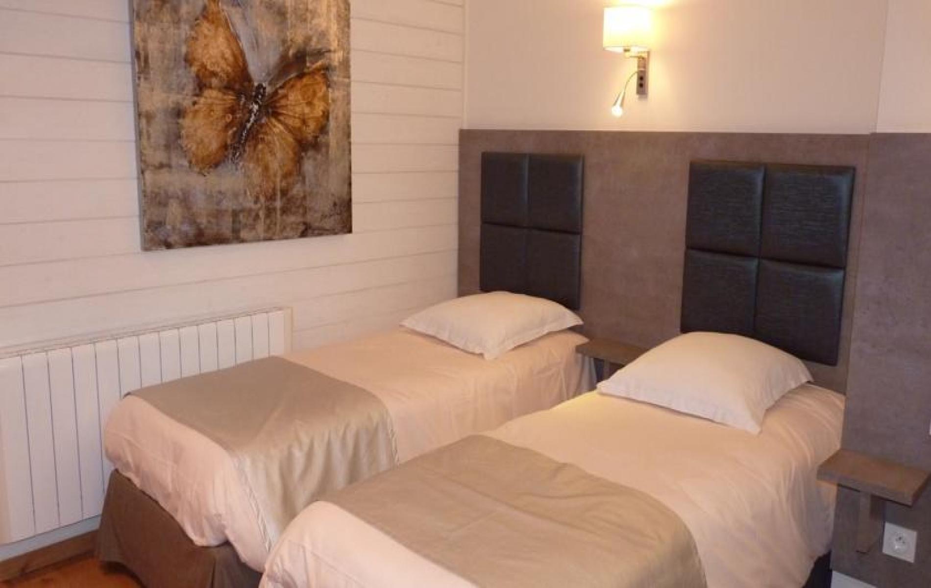 Hotel à Honfleur - les chambres