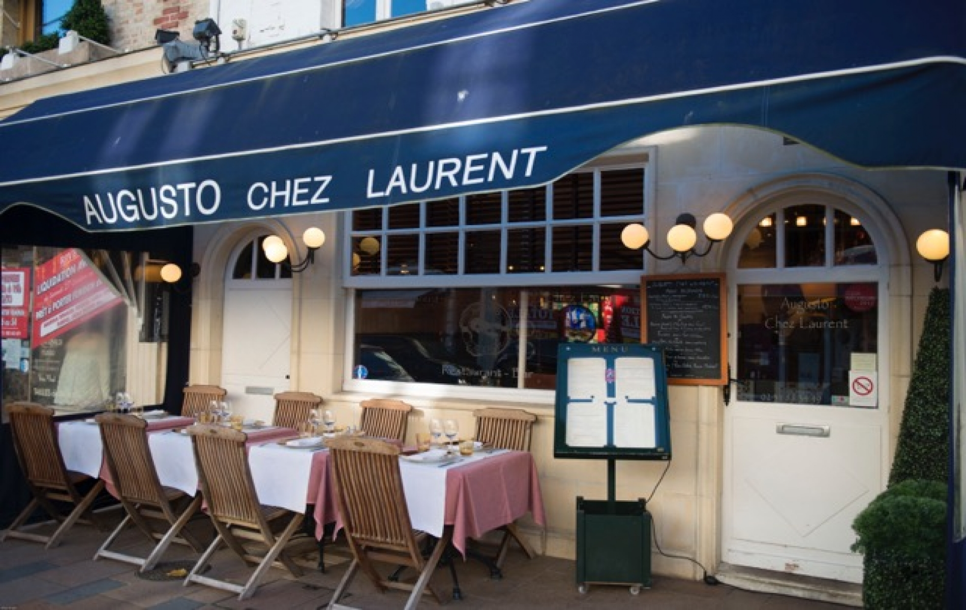 Restaurant Augusto chez Laurent