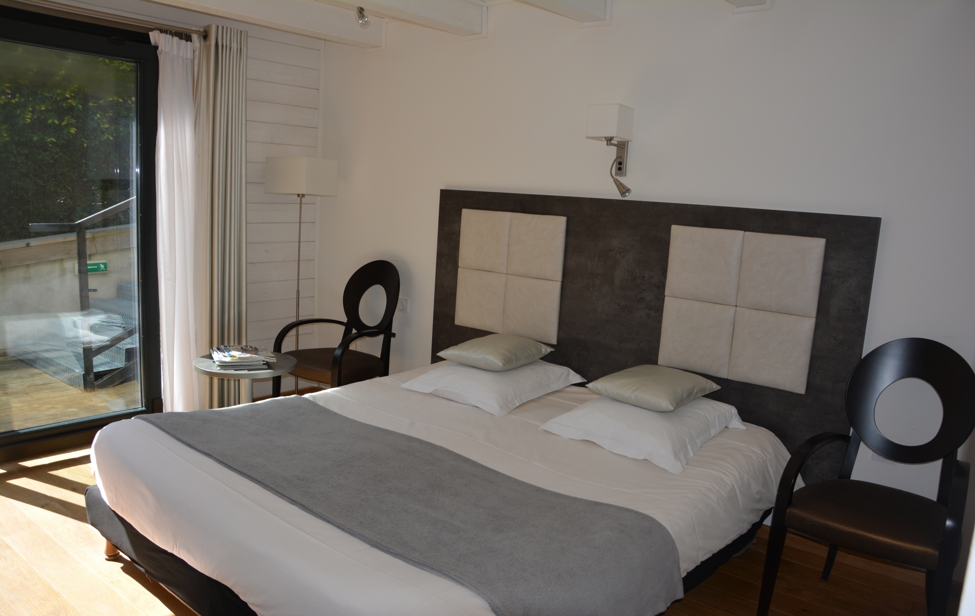 hotel monet honfleur chambre