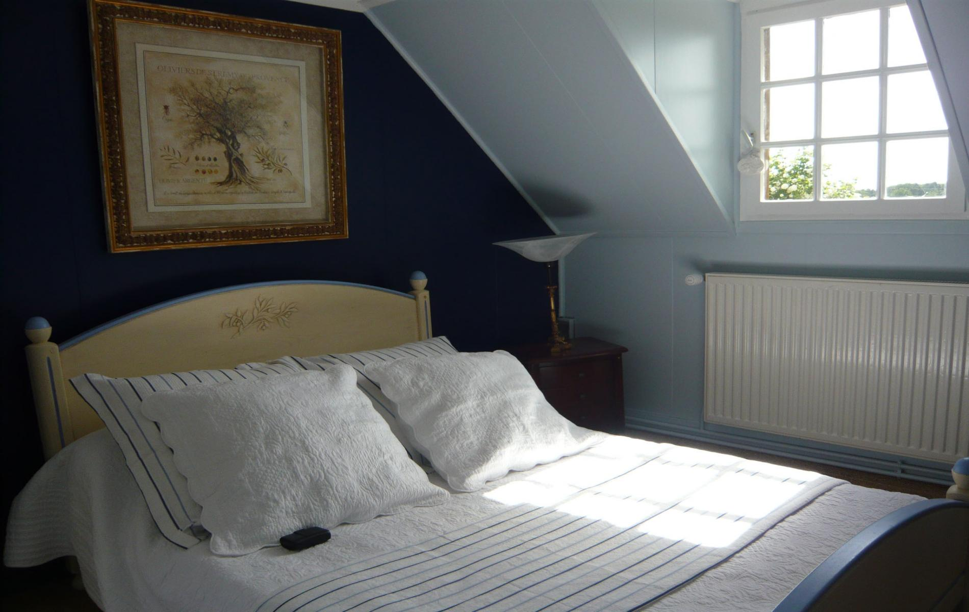 Chambre bleue 2 pers