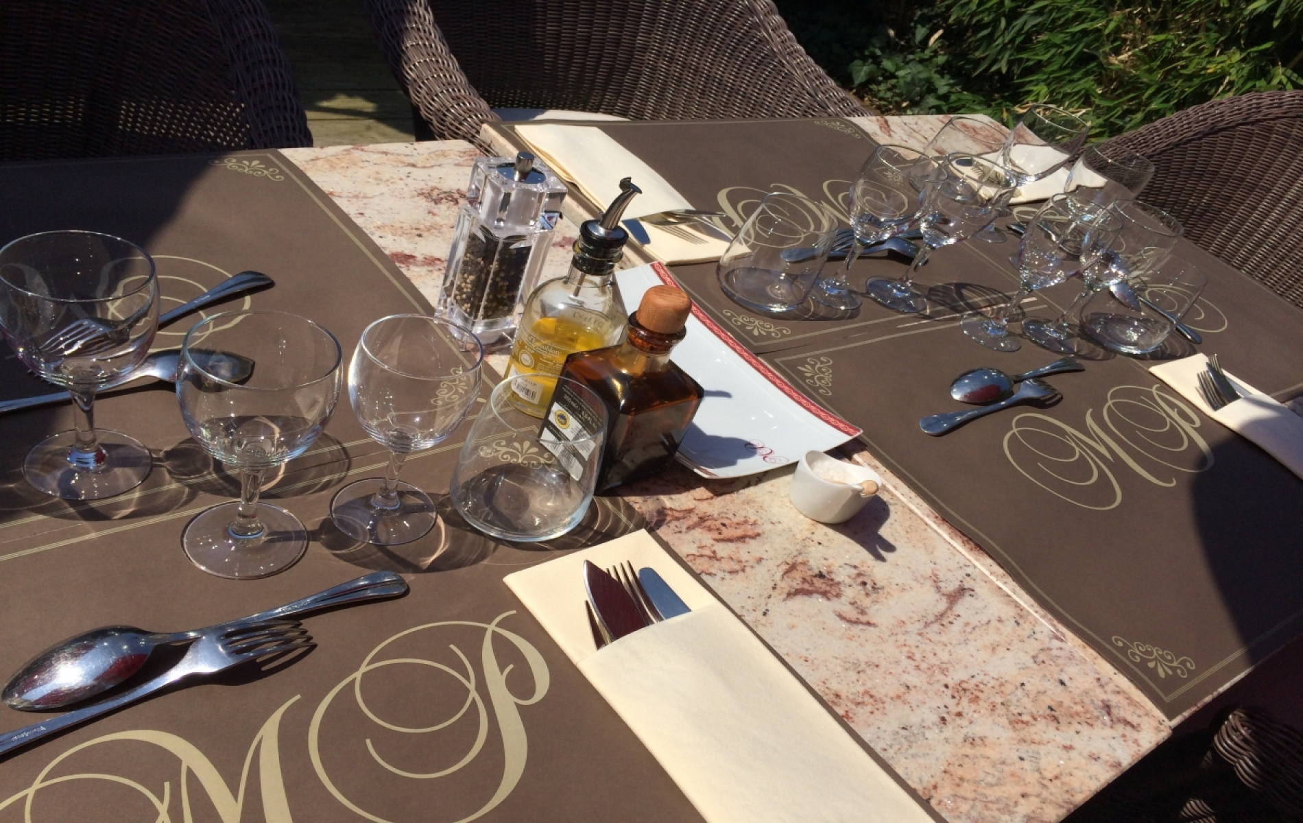 Table d'entreprise à Deauville