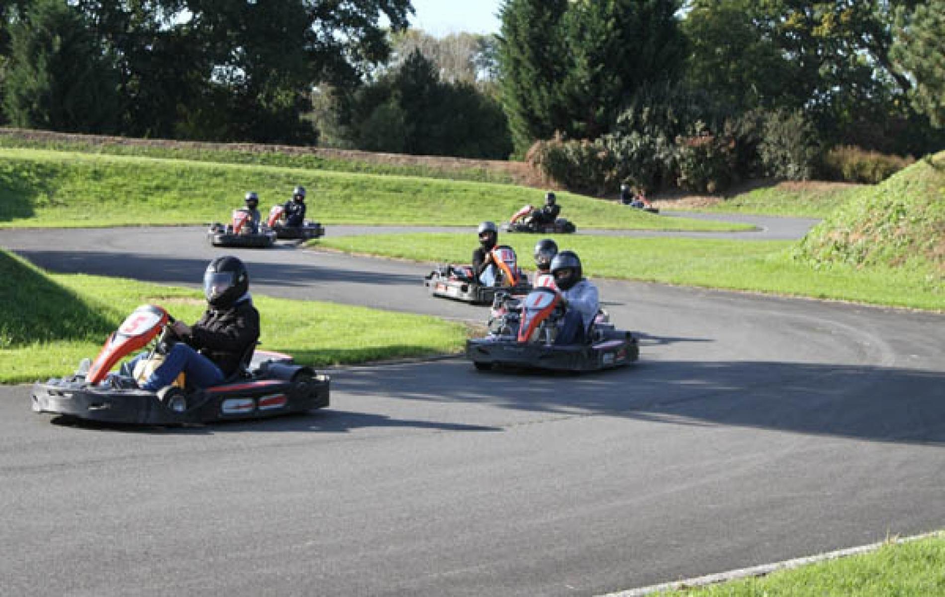 Circuit de karting à Deauville