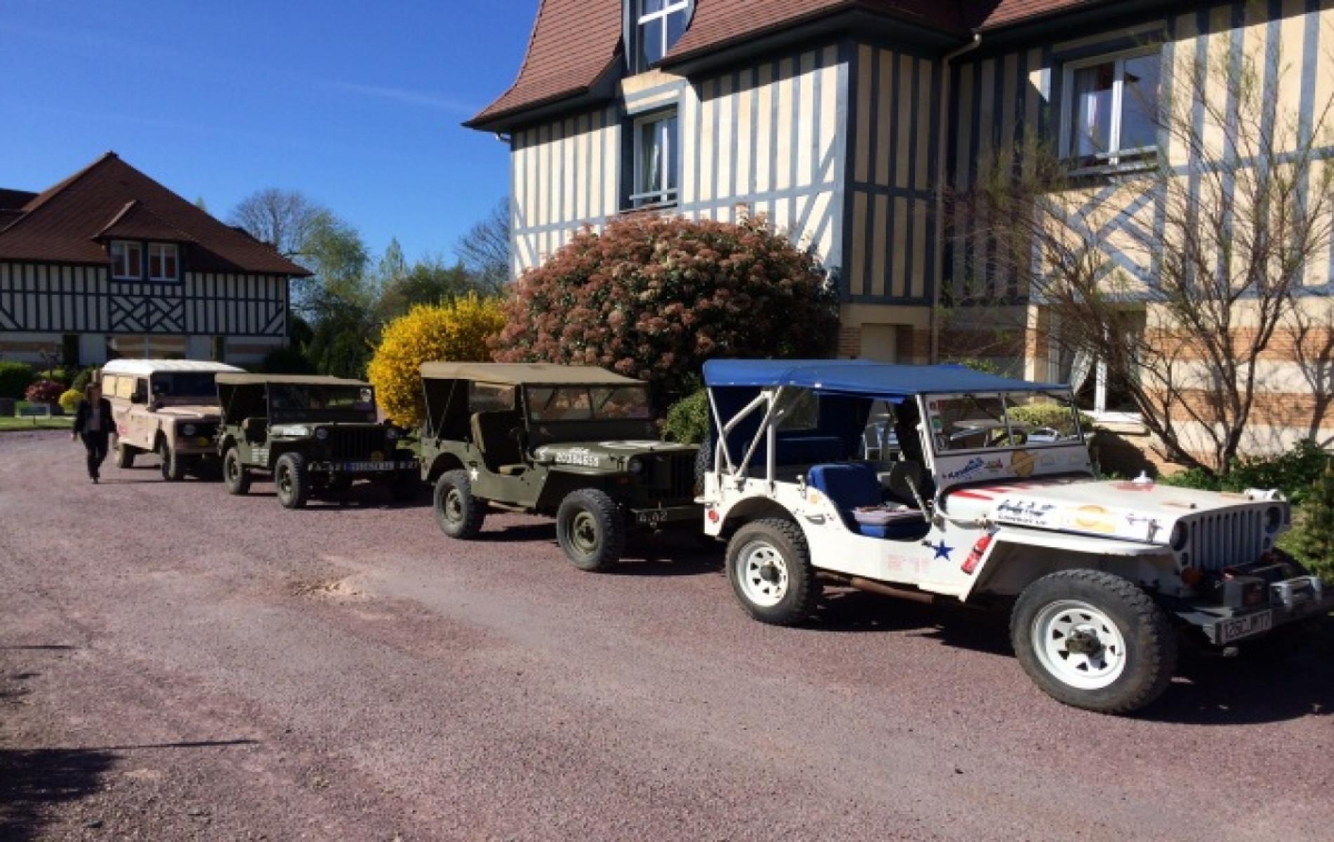 Rallye en Jeep à Deauville