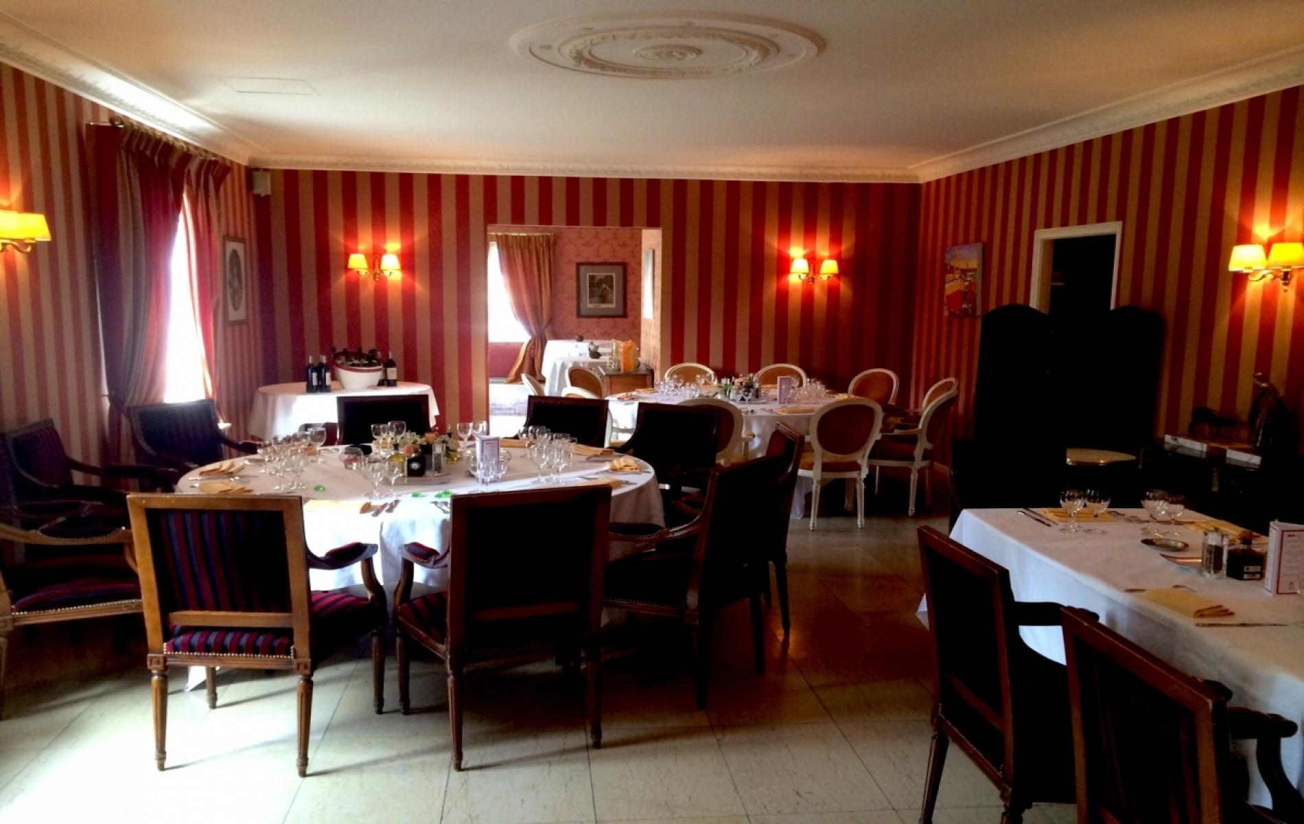 Repas d'affaire à Deauville