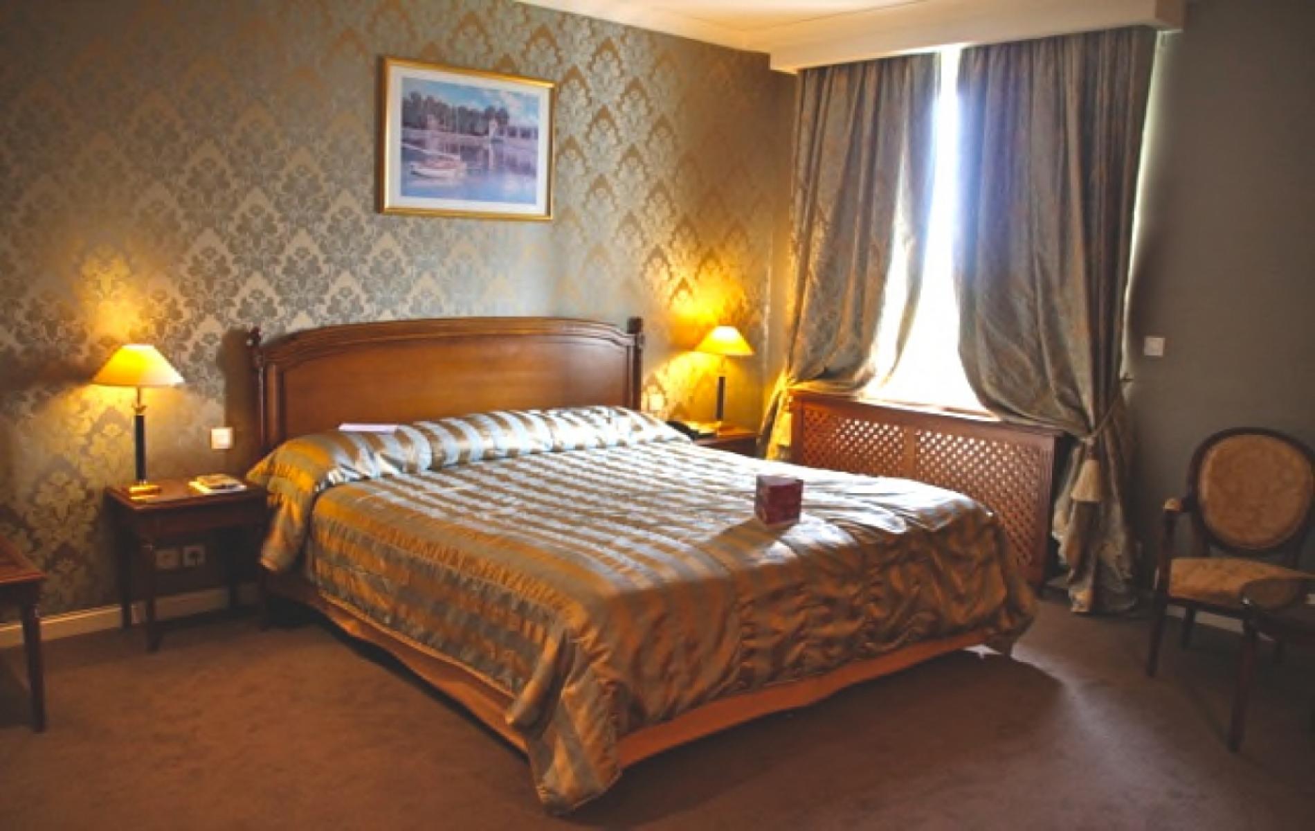 Chambre toute équipée pour un séminaire à Deauville