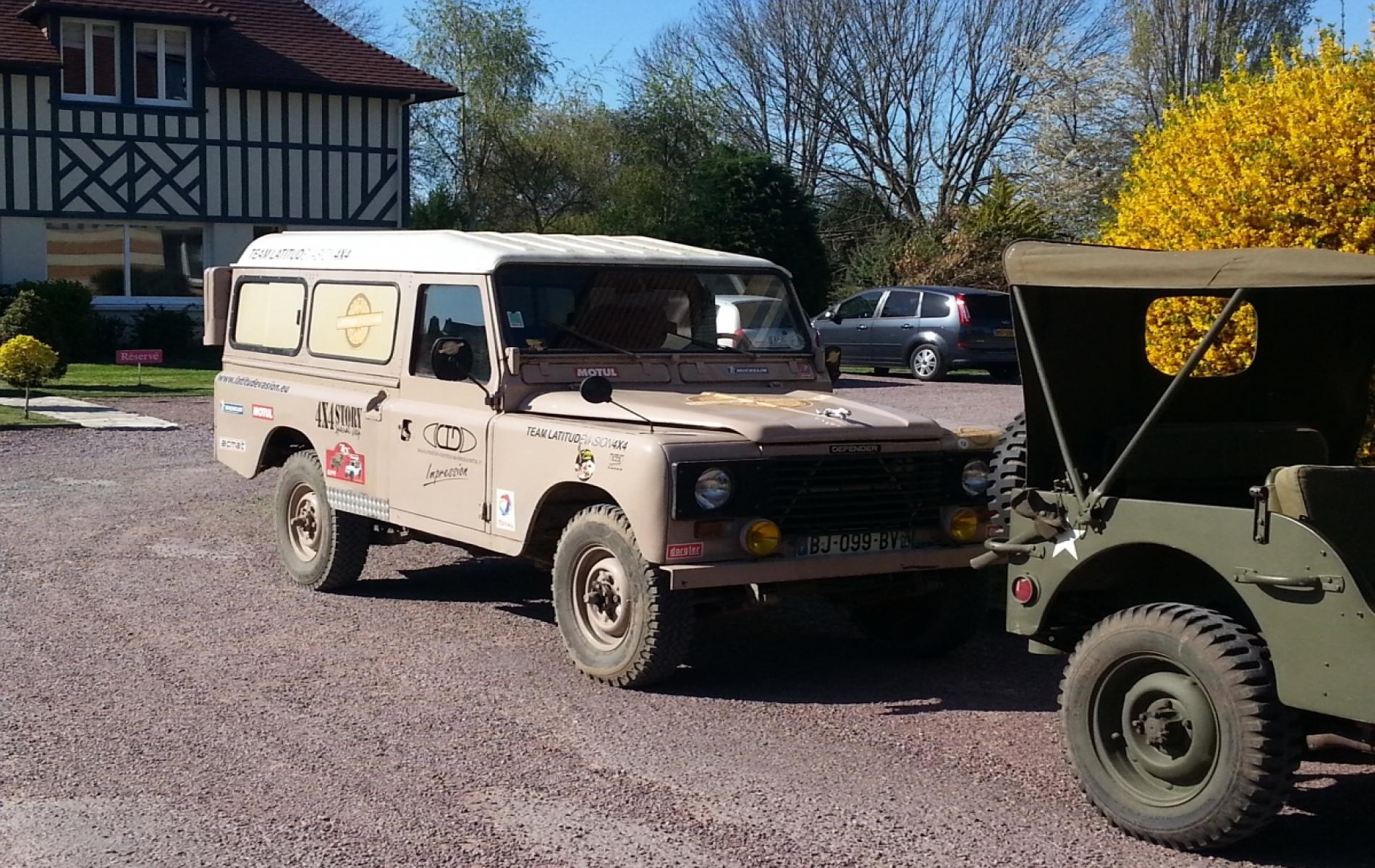Tour en Jeep à Deauville