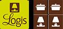 Logos logis hôtl Orchidées à verdun