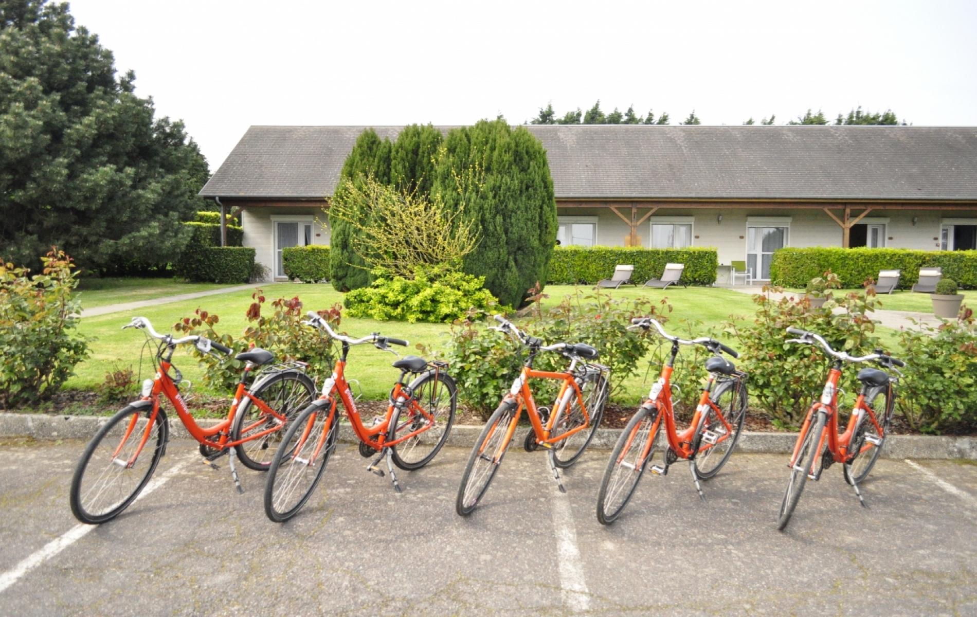 prêt de vélos sur demande à l'hôtel
