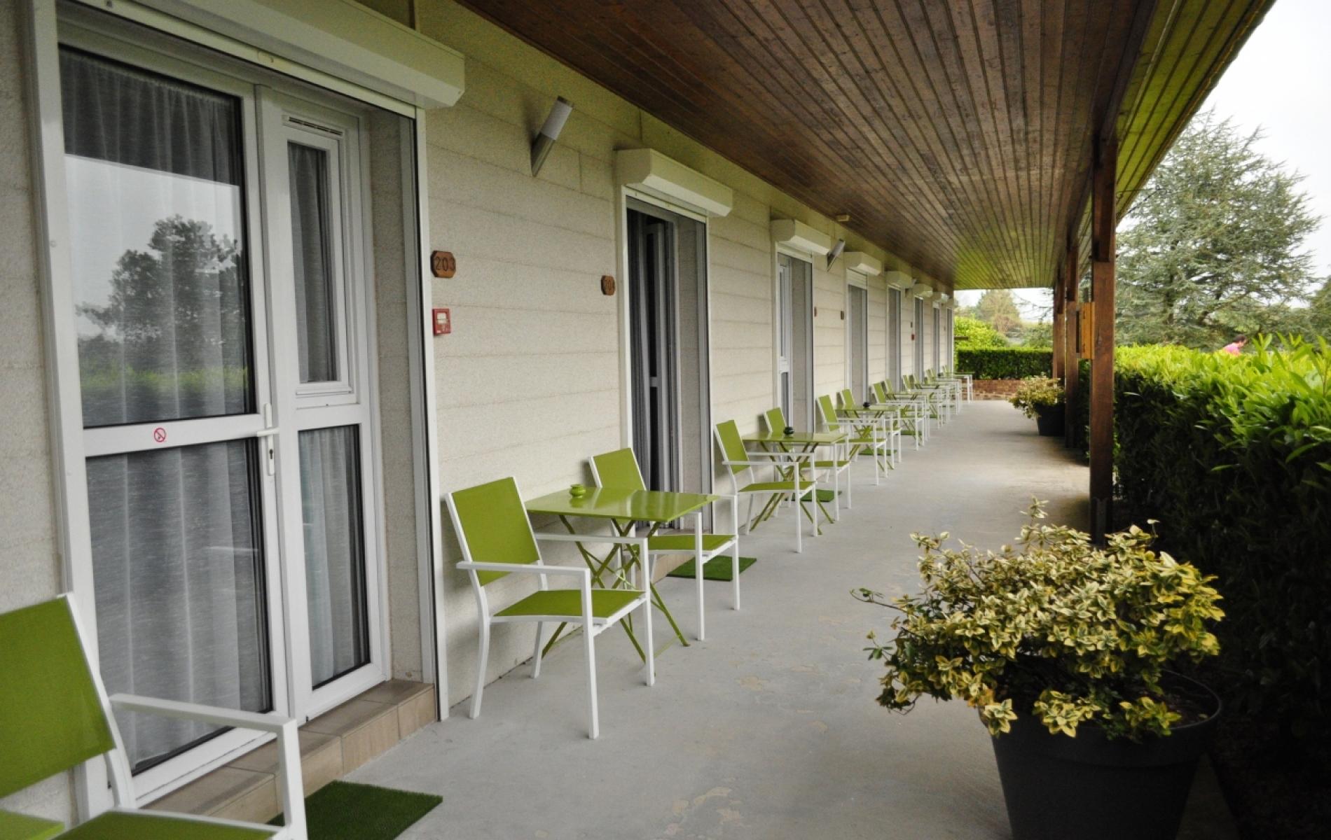 les terrasses couvertes
