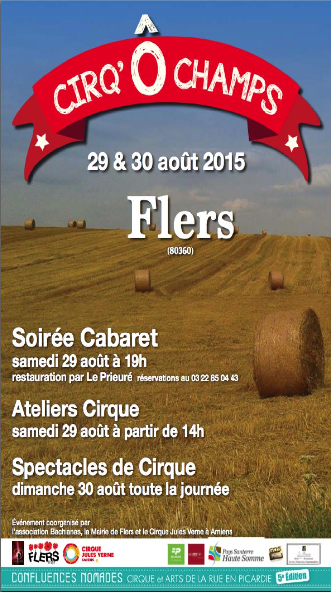 Samedi 29 ao�t Soir�e Cabaret  � Flers