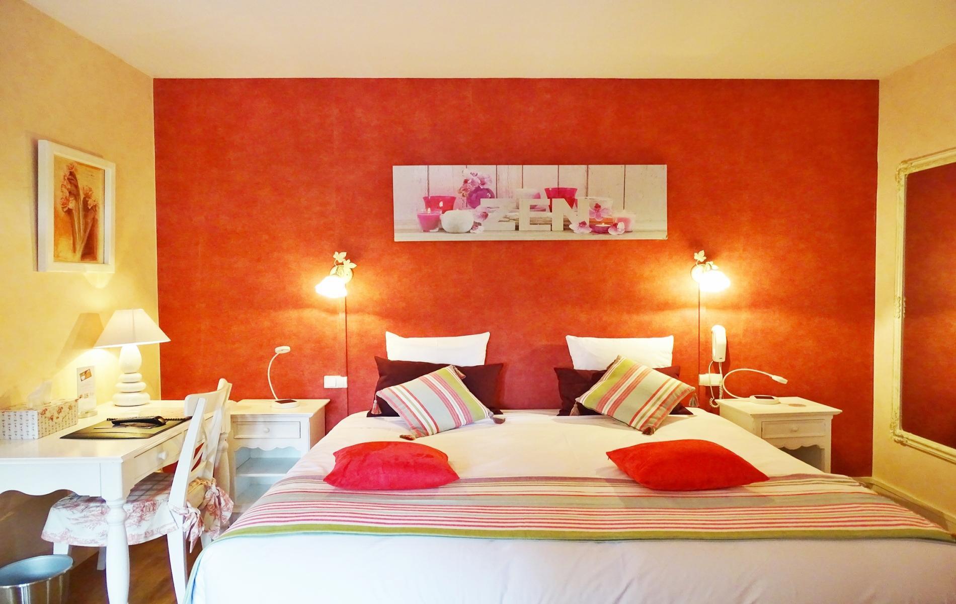 les chambres de l 39 auberge du pr sident cormeilles en normandie. Black Bedroom Furniture Sets. Home Design Ideas