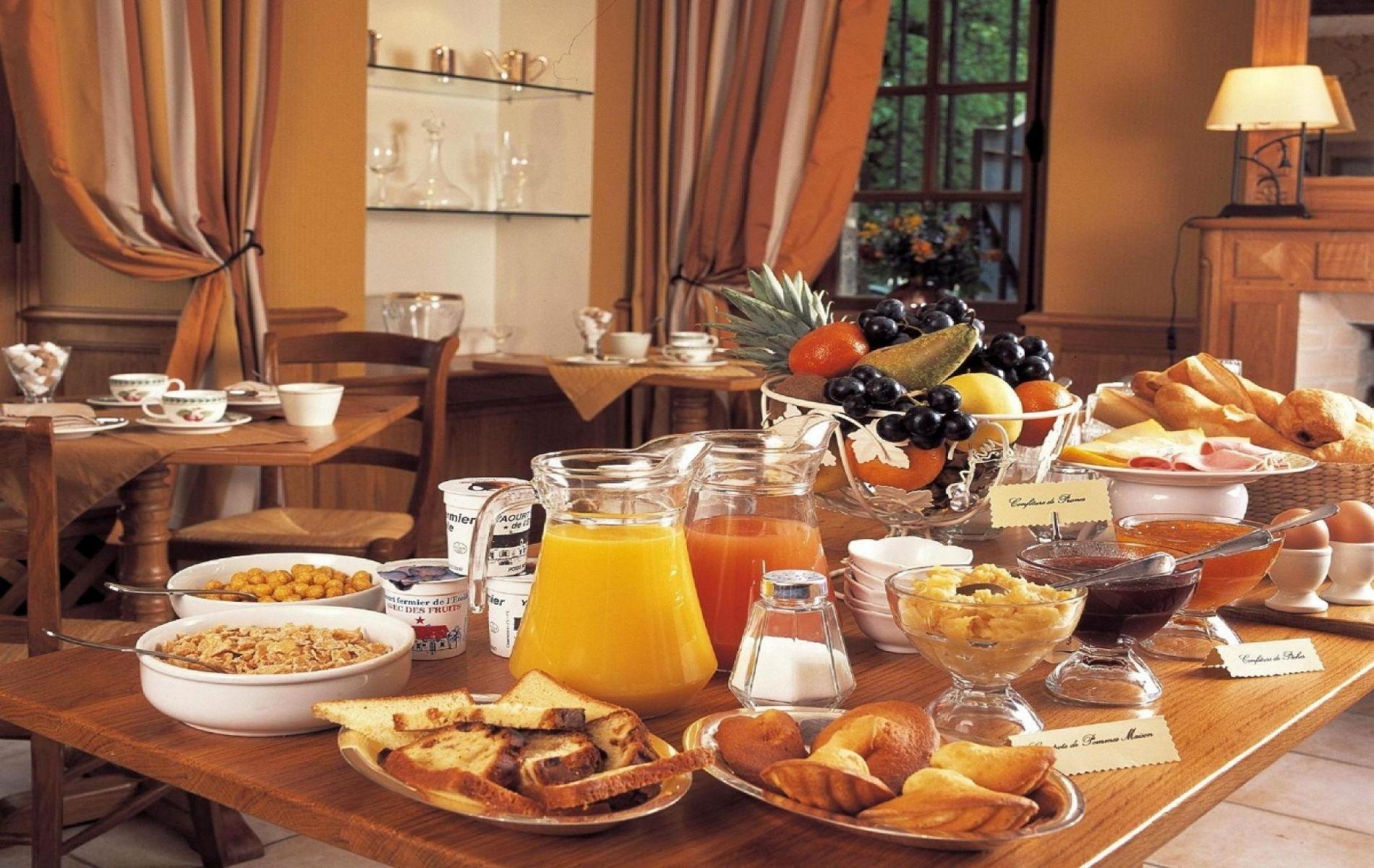 Salle des petits-déjeuners
