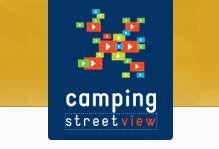 Camping street view honfleur