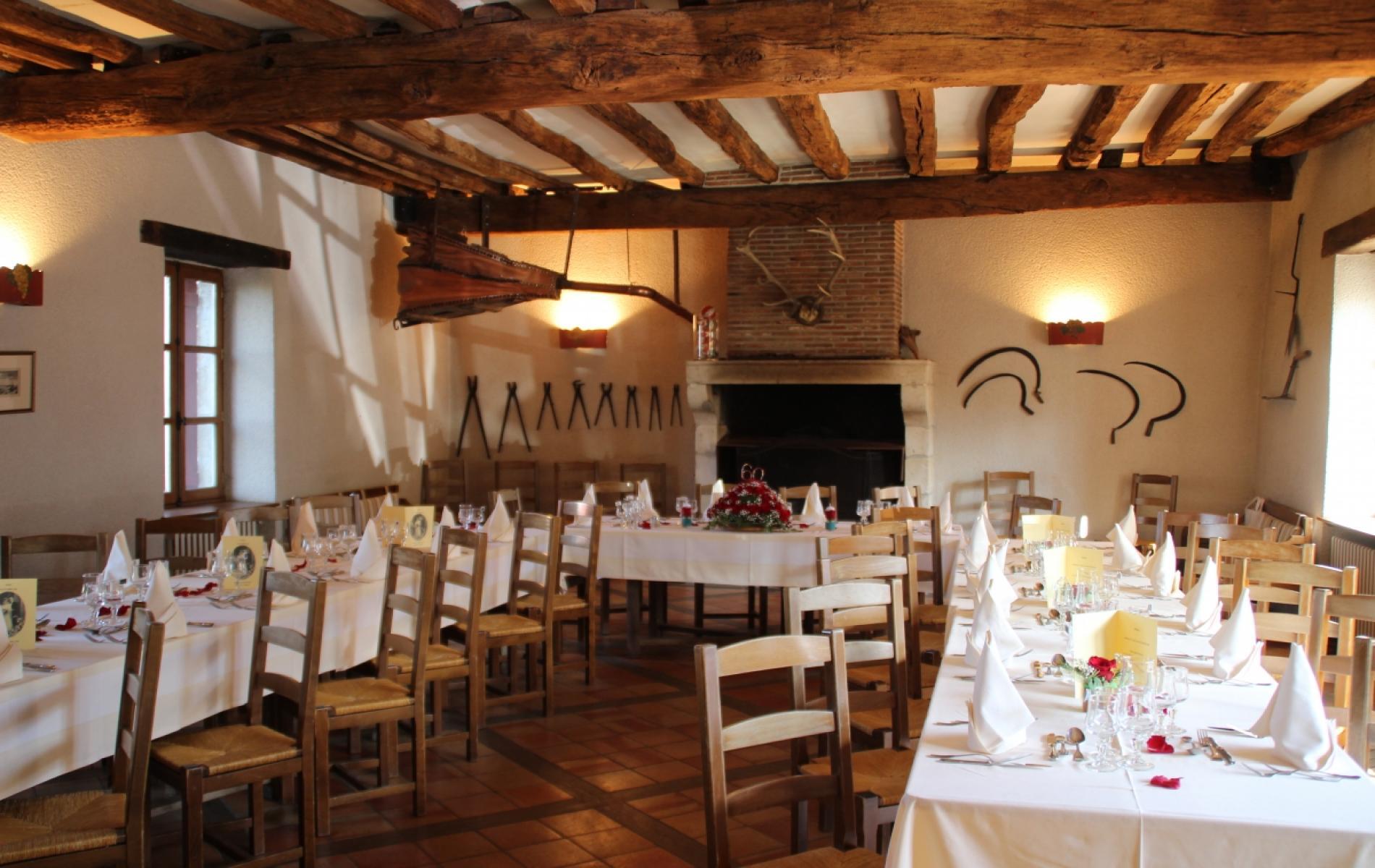 Réception au Relais Saint Jacques