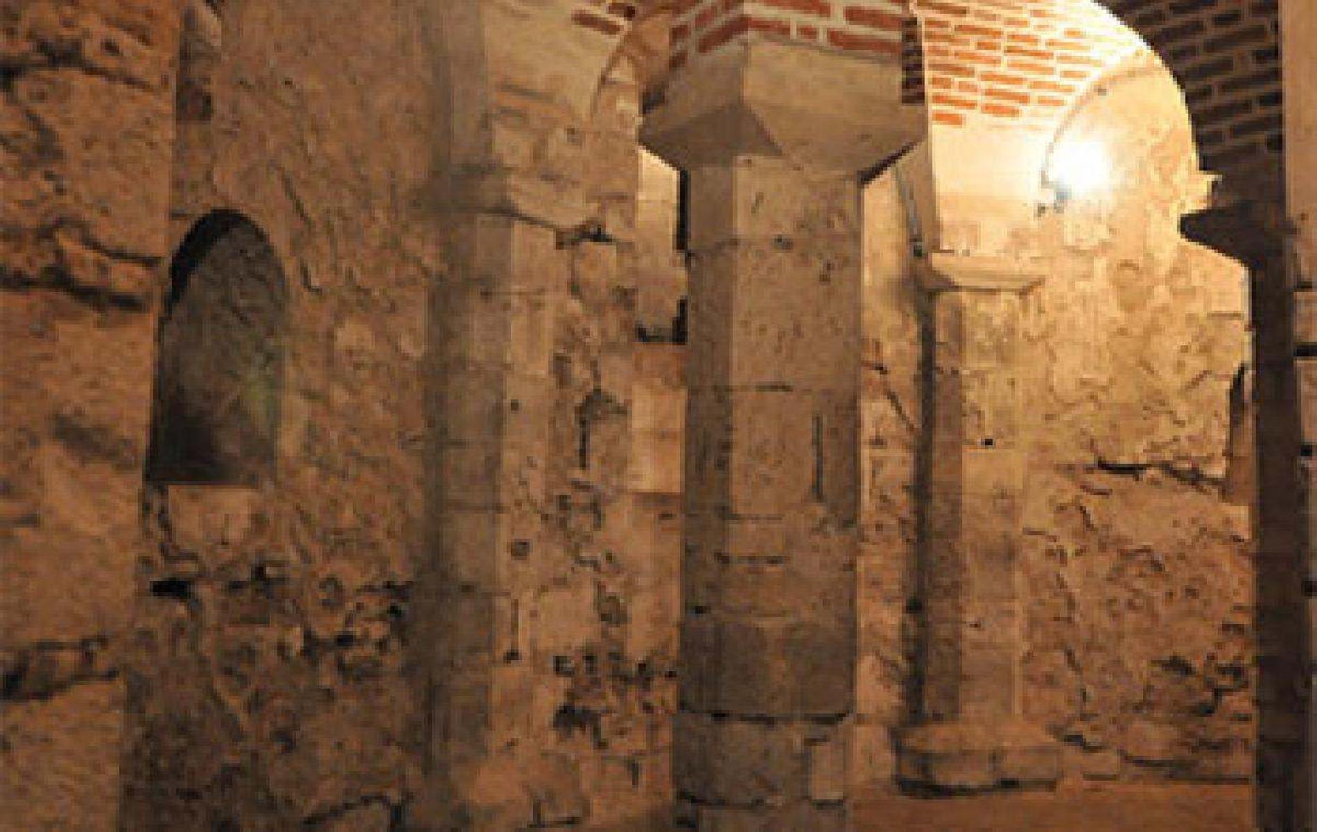 La Crypte St Avit à Orléans