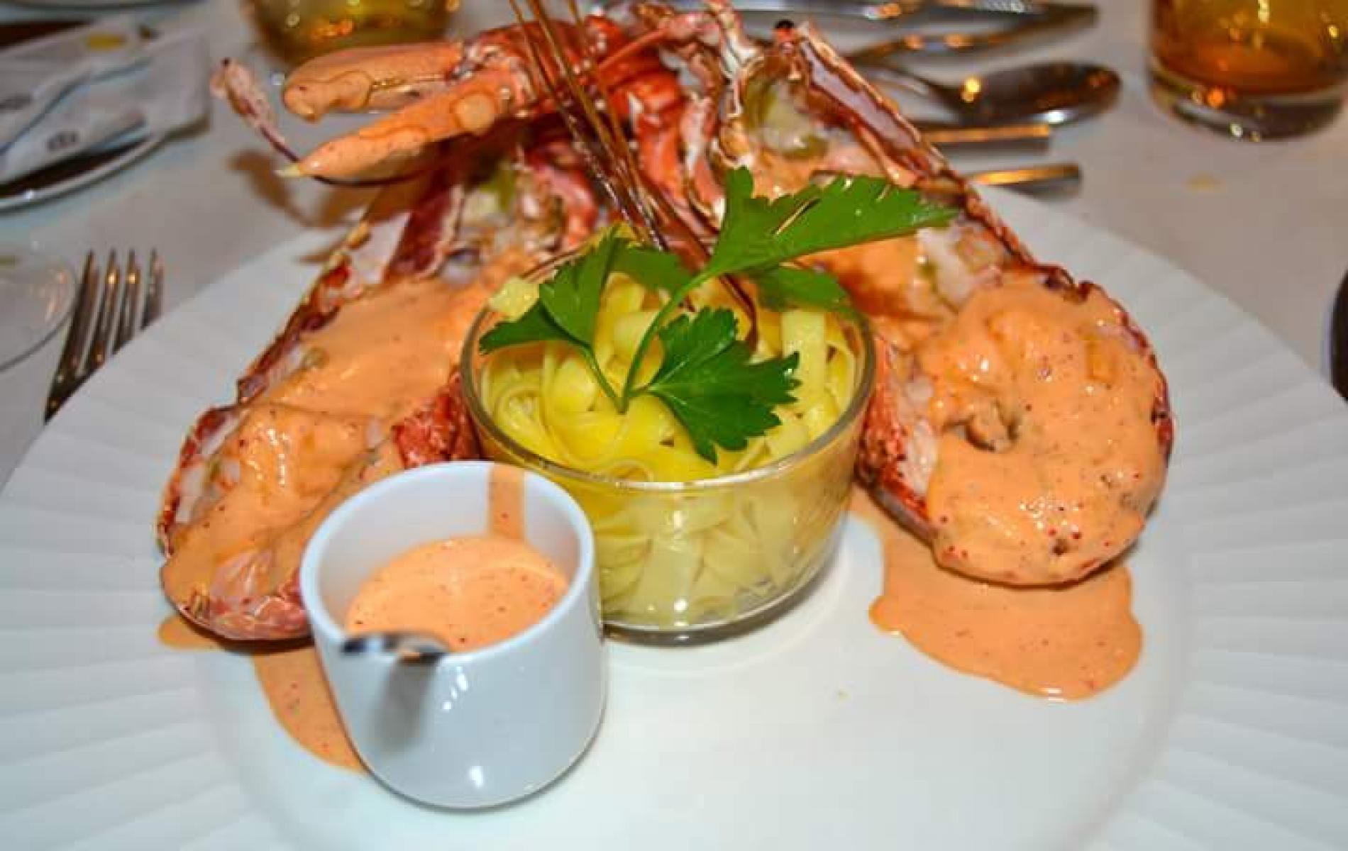 Plats du restaurant à Deauville Augusto chez Laurent
