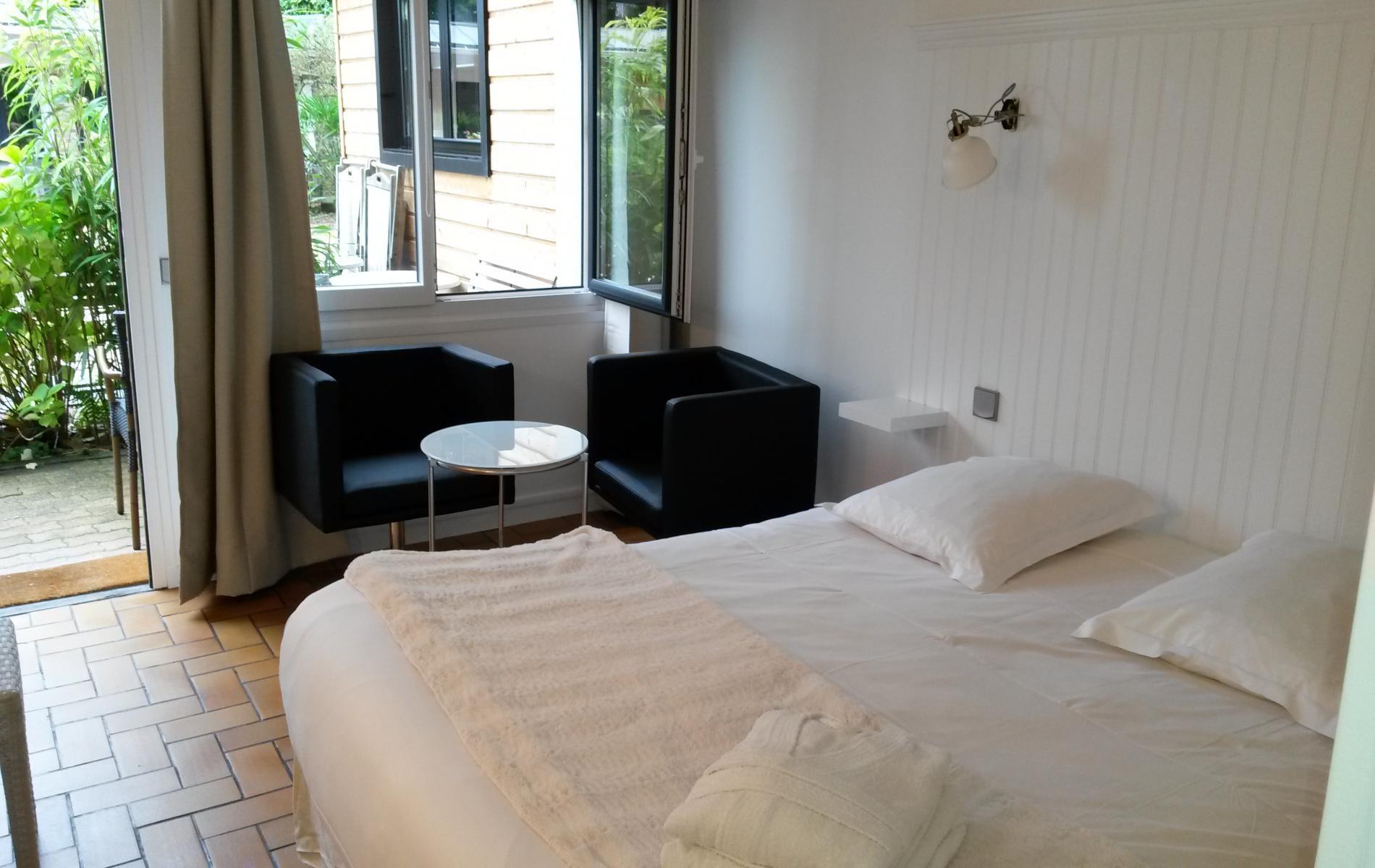 Hotel à Honfleur- les chambres
