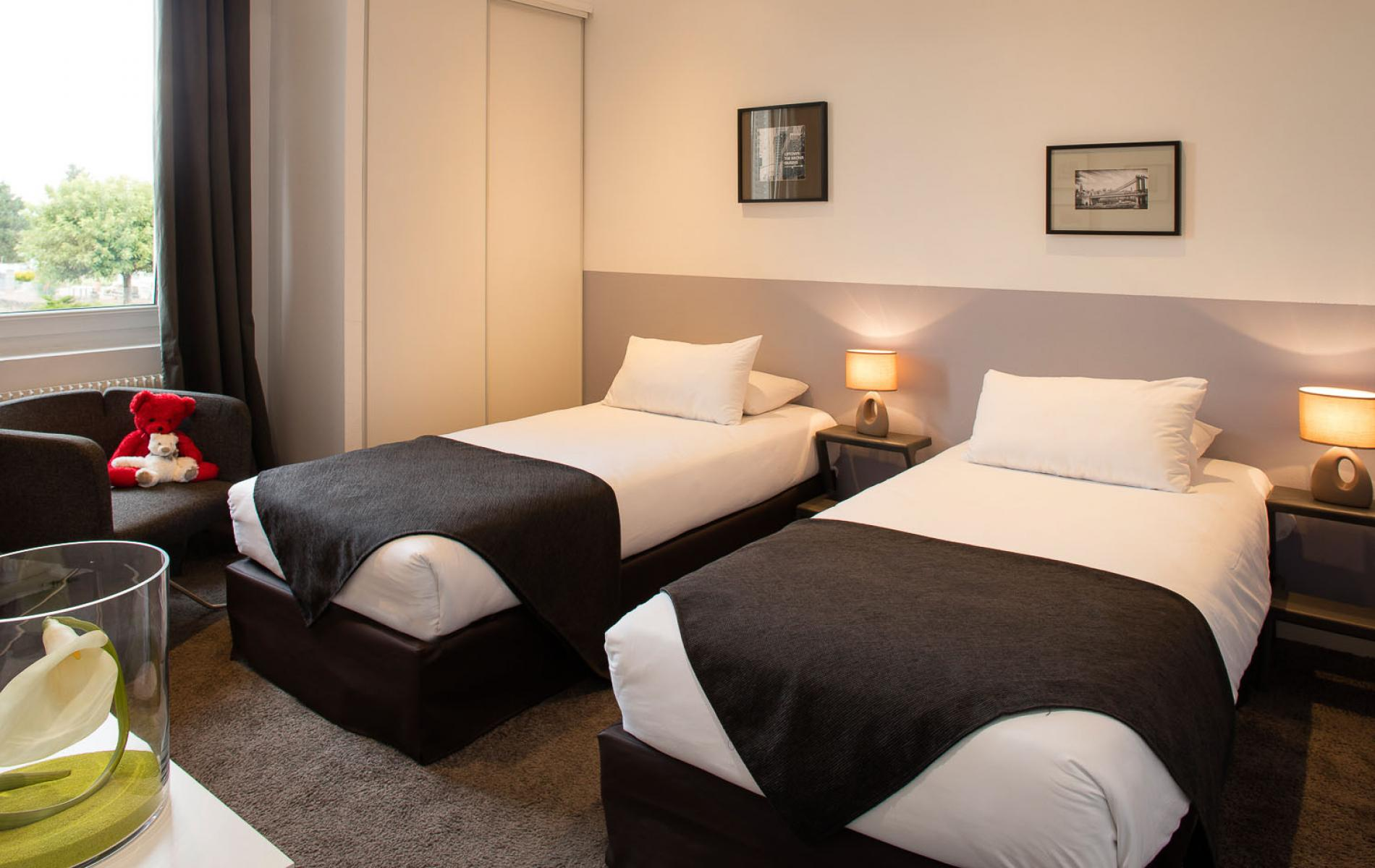 Chambre n°2 de la suite Beaujolais