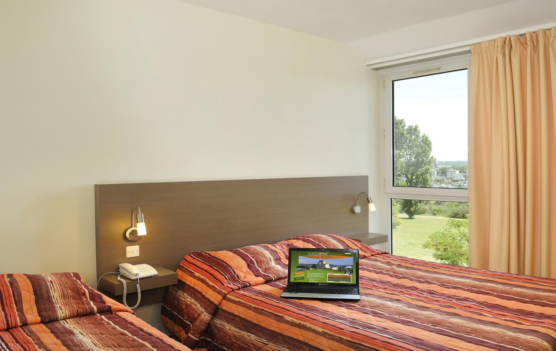 Chambres d h´tel  Loches au Luccotel en Touraine