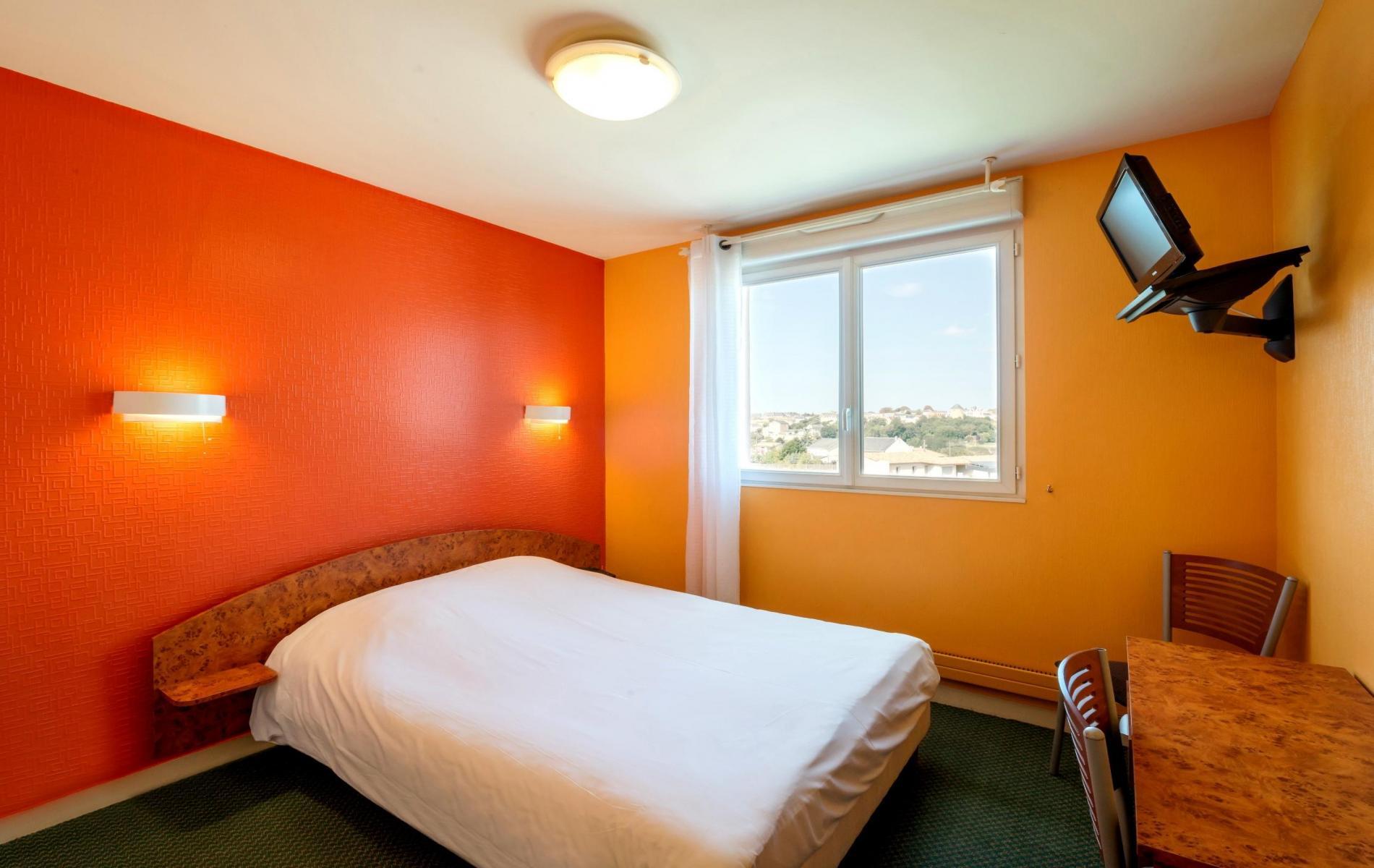 chambre double ou single