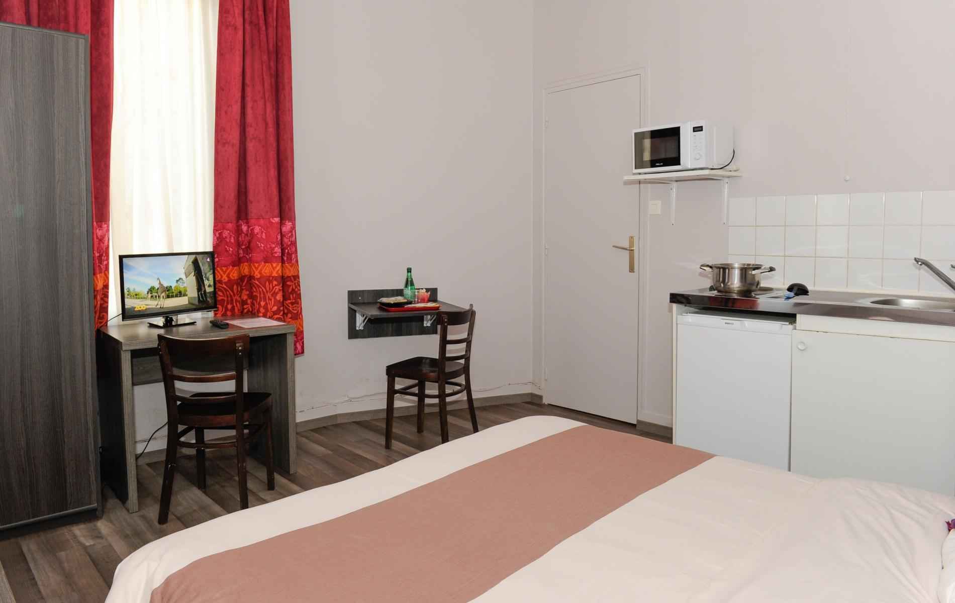 Chambre Appart'Hotel Le Havre