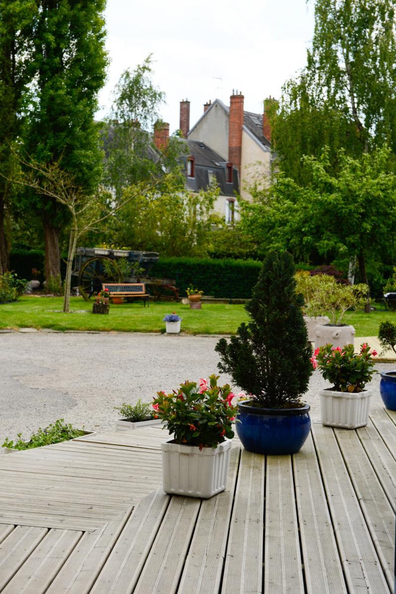 Jardin de l'Hôtel des Ducs à Alençon