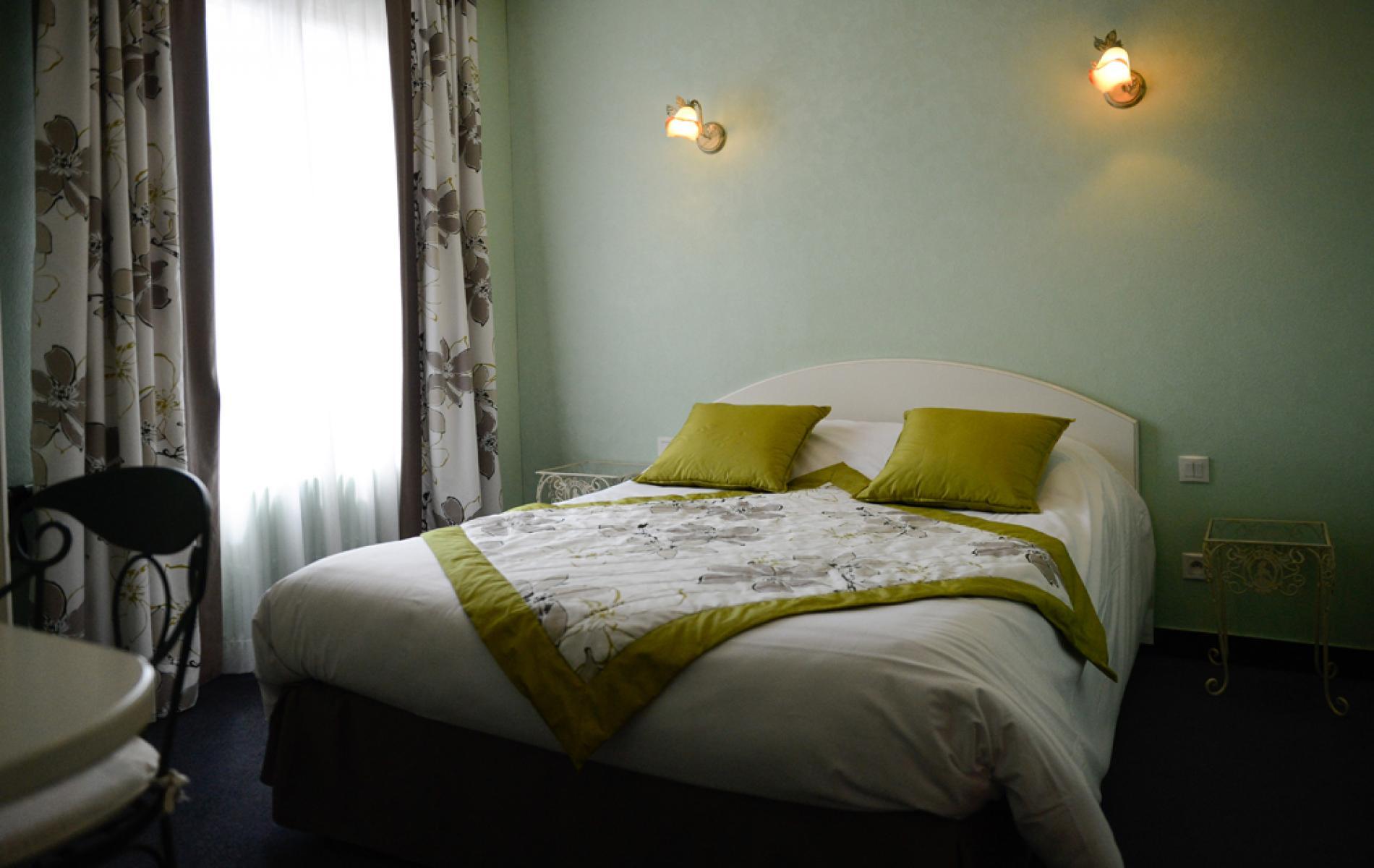 Chambre standard de l'hôtel des ducs