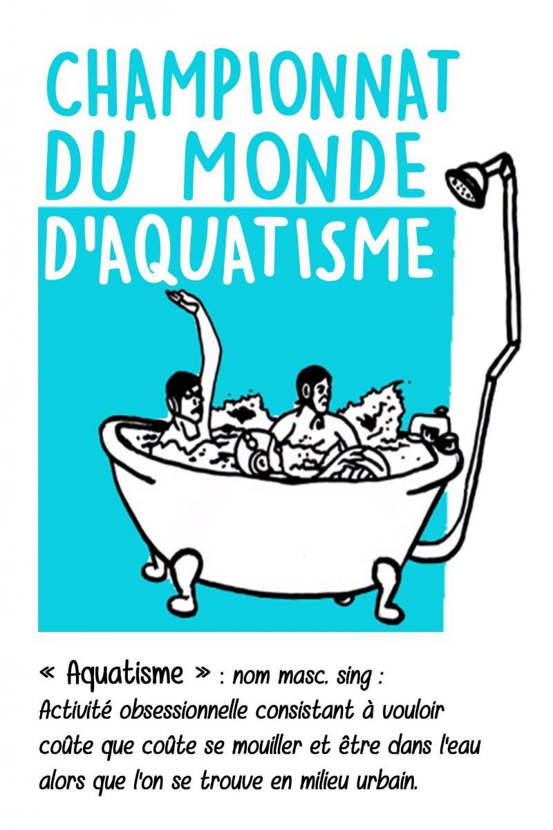 CHAMPIONNAT DU MONDE D'AQUATISME
