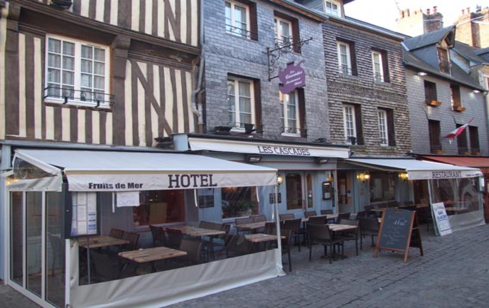 Hôtel de charme plein centre Honfleur