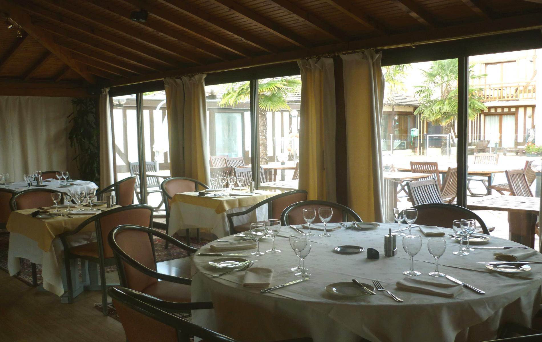 Restaurant de l'Hôtel Le Clos Saint Gatien