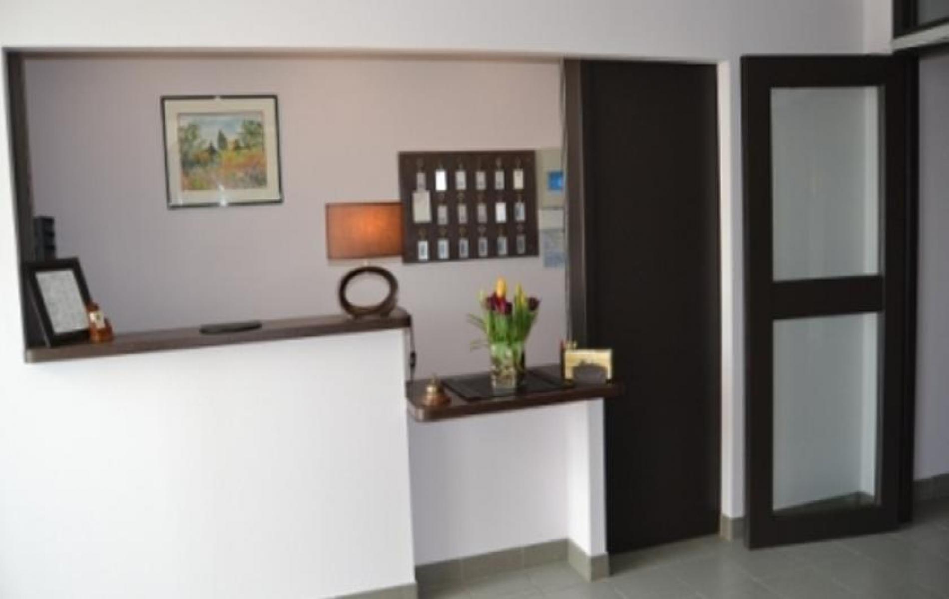 RECEPTION DE L'HOTEL