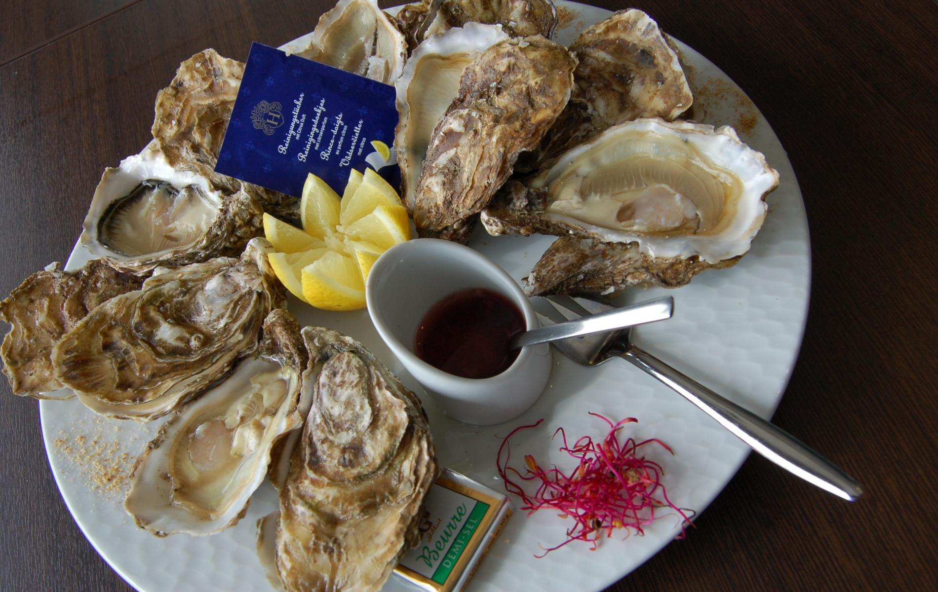 Les huîtres de la Guittière
