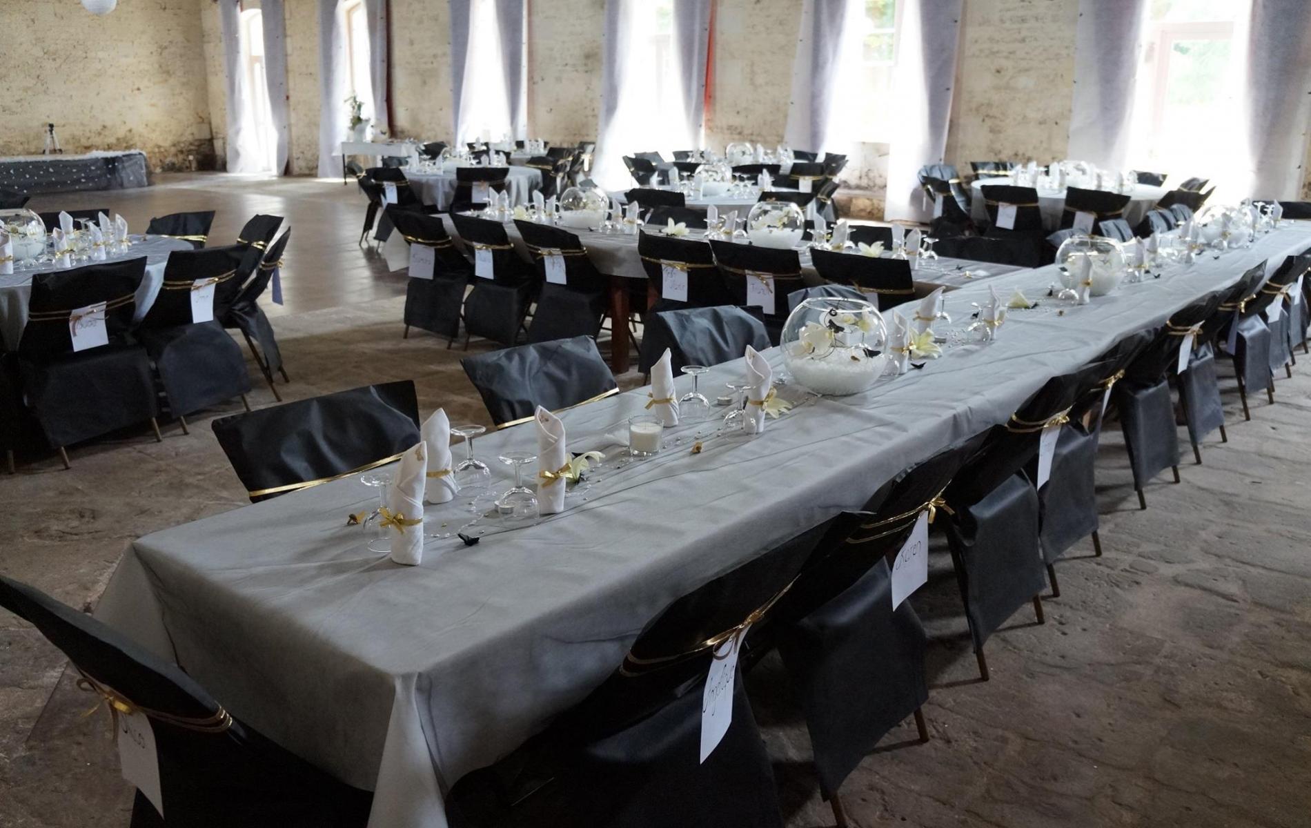 Nous organisons vos banquets, réceptions...