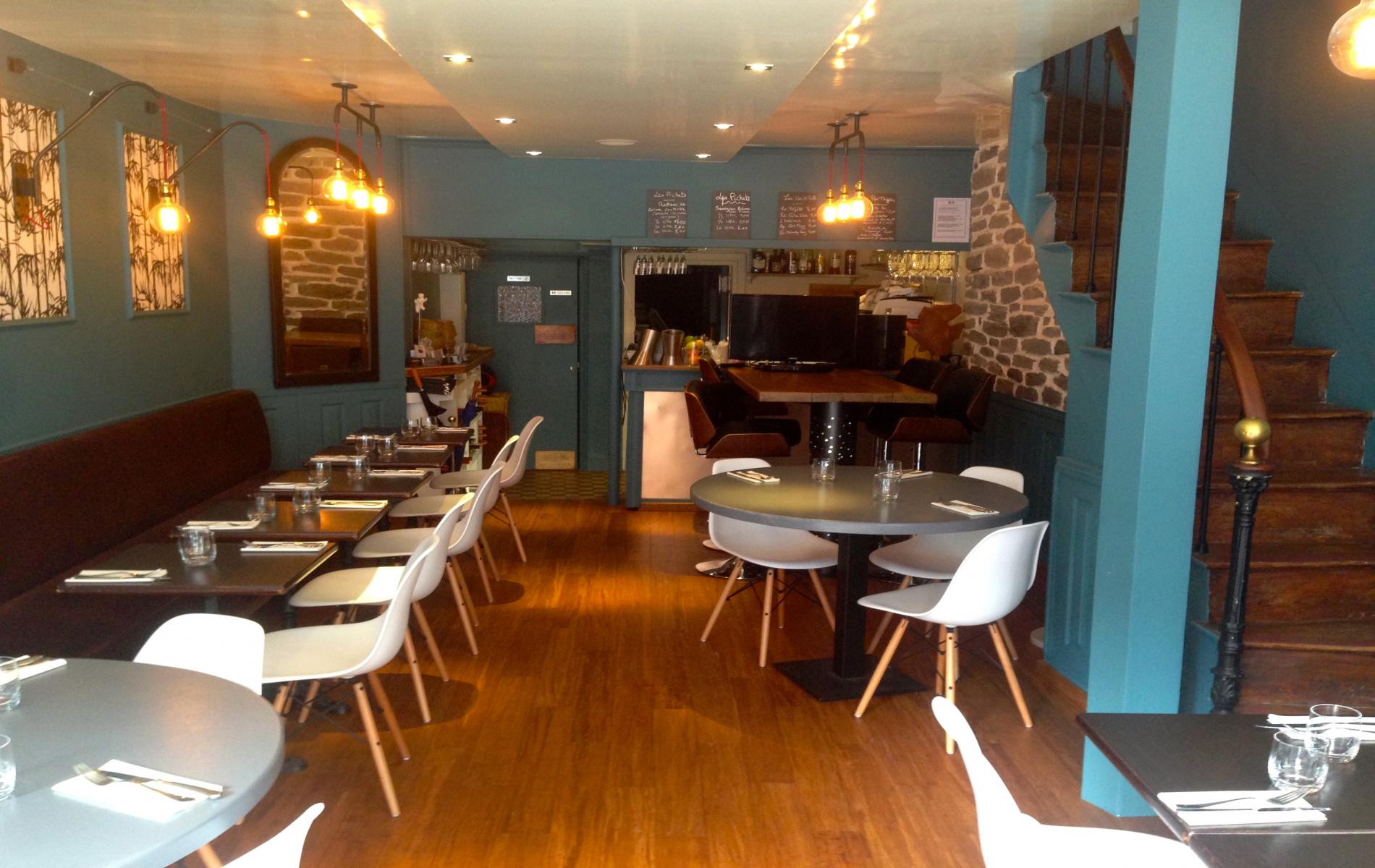 restaurant dans le vieux Honfleur