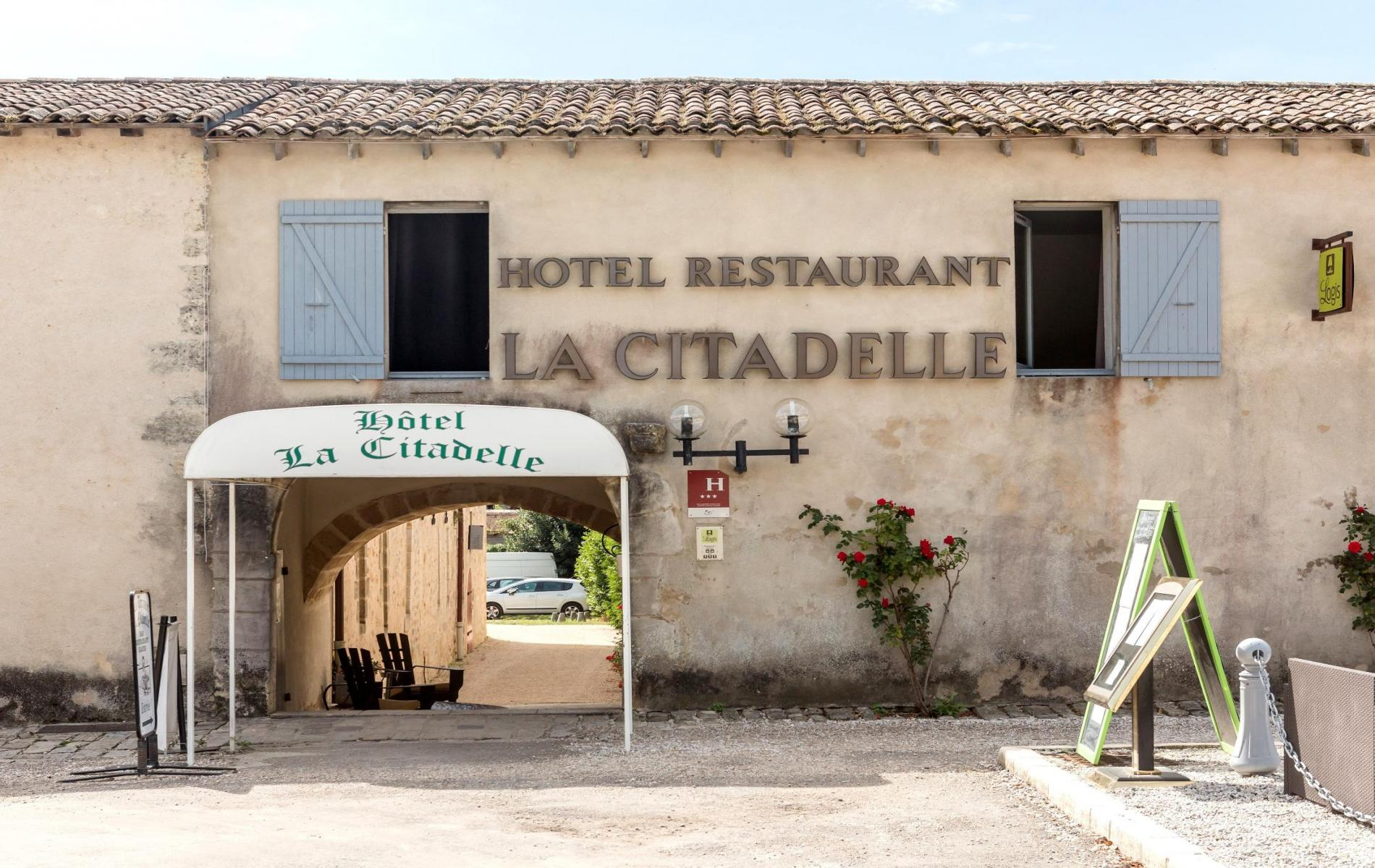 hôtel blaye citadelle