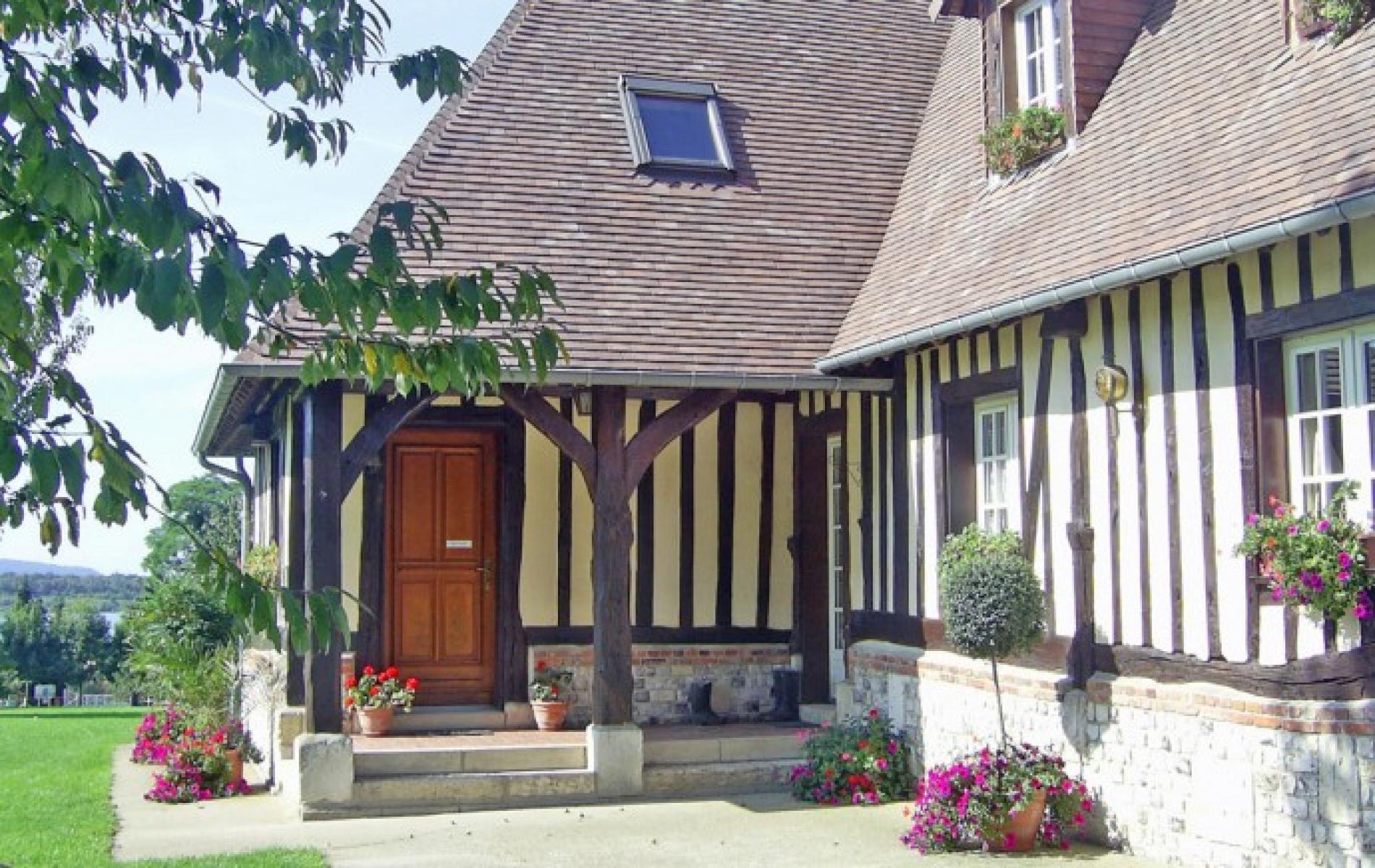 ∞ Chambres d h´tes en Norman dans le Marais Vernier en norman