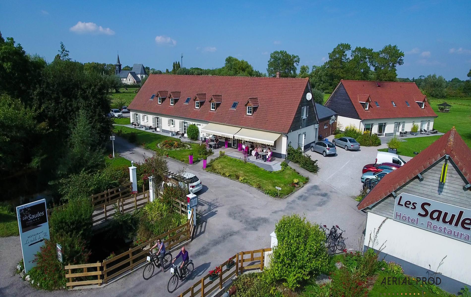 Location vélo hotel Les Saules