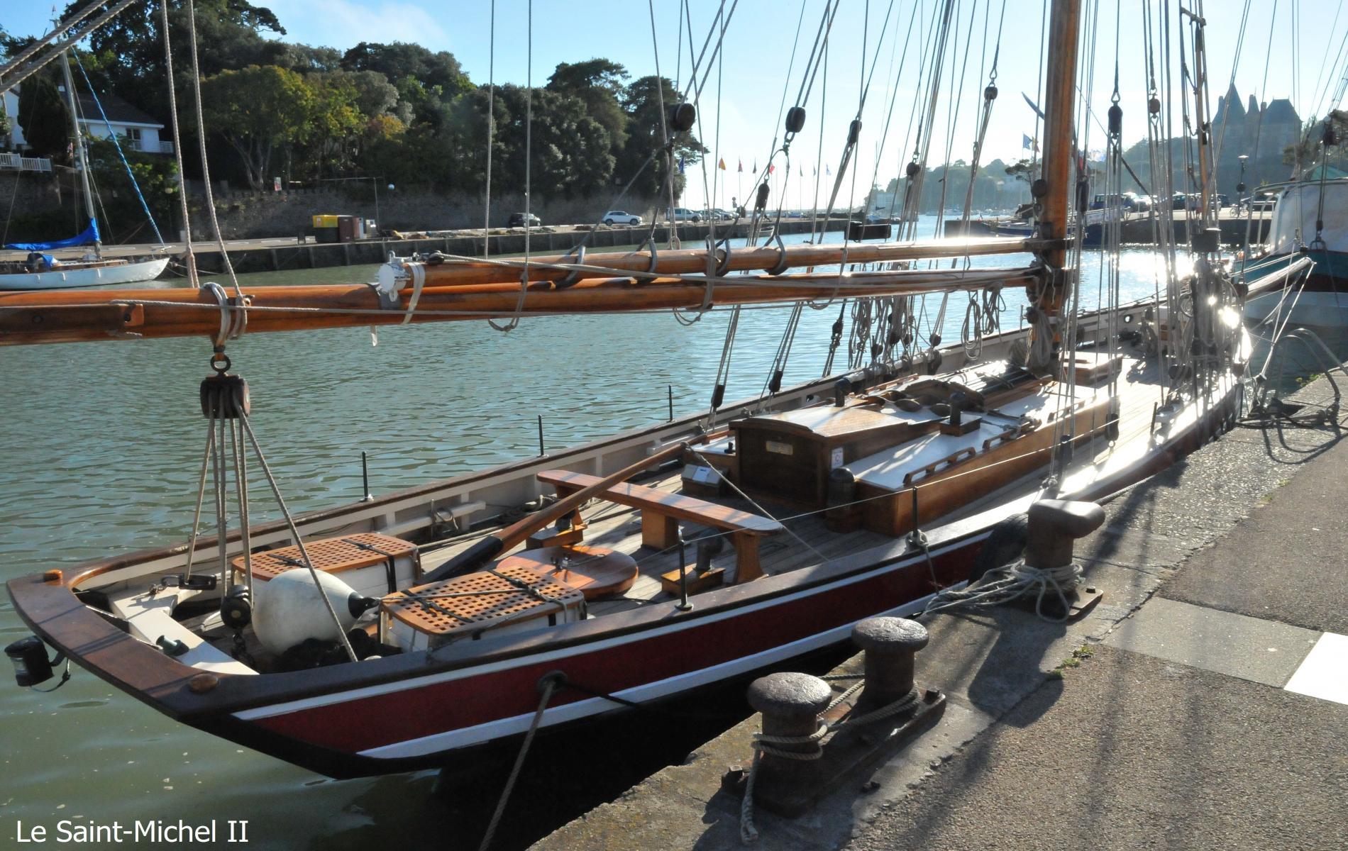Le Saint-Michel II, réplique du bateau de Jules Verne.