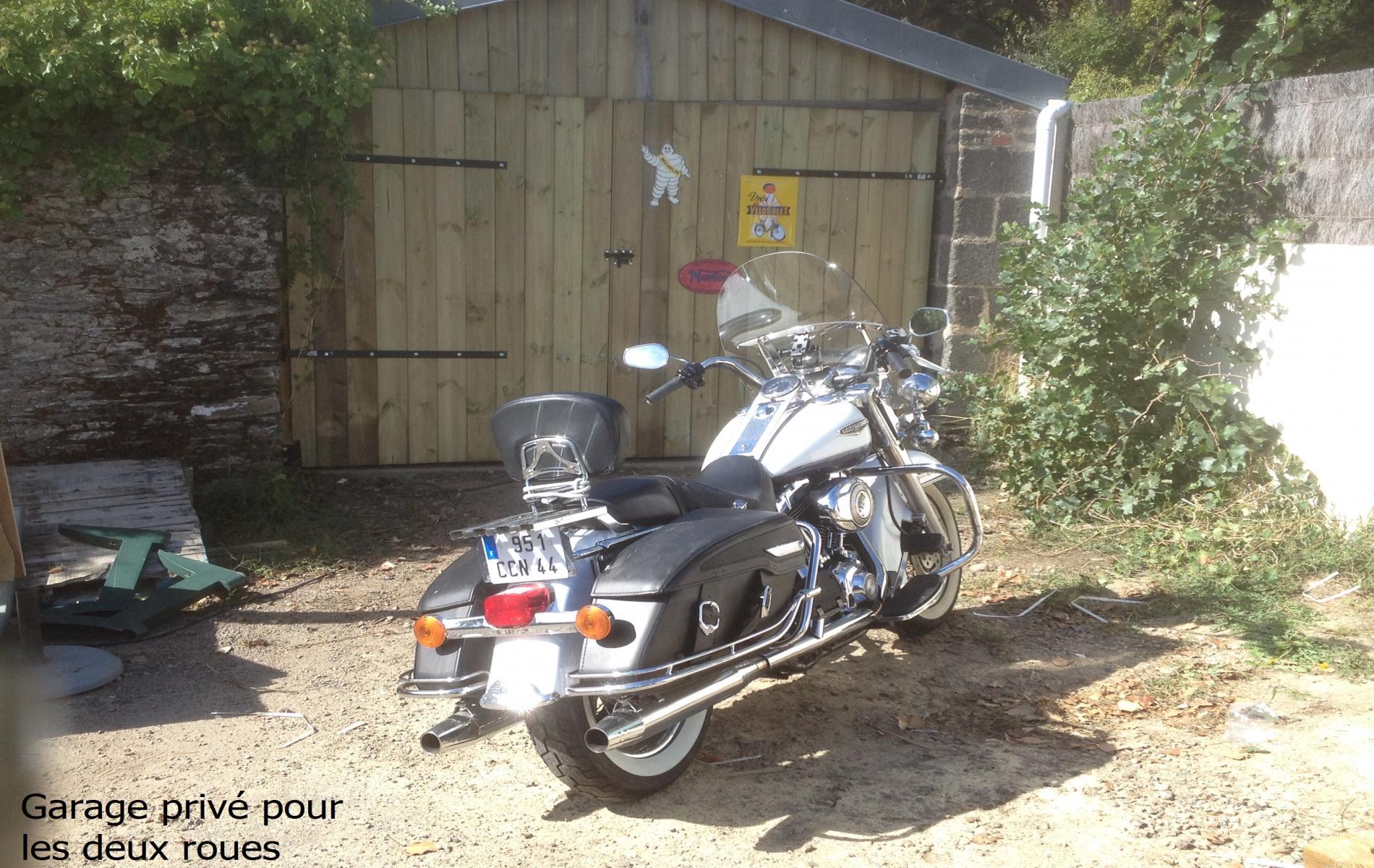 Garage privé pour les deux roues
