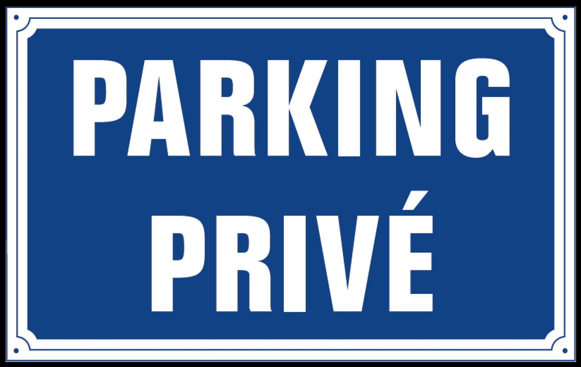 Parking gratuit et privé