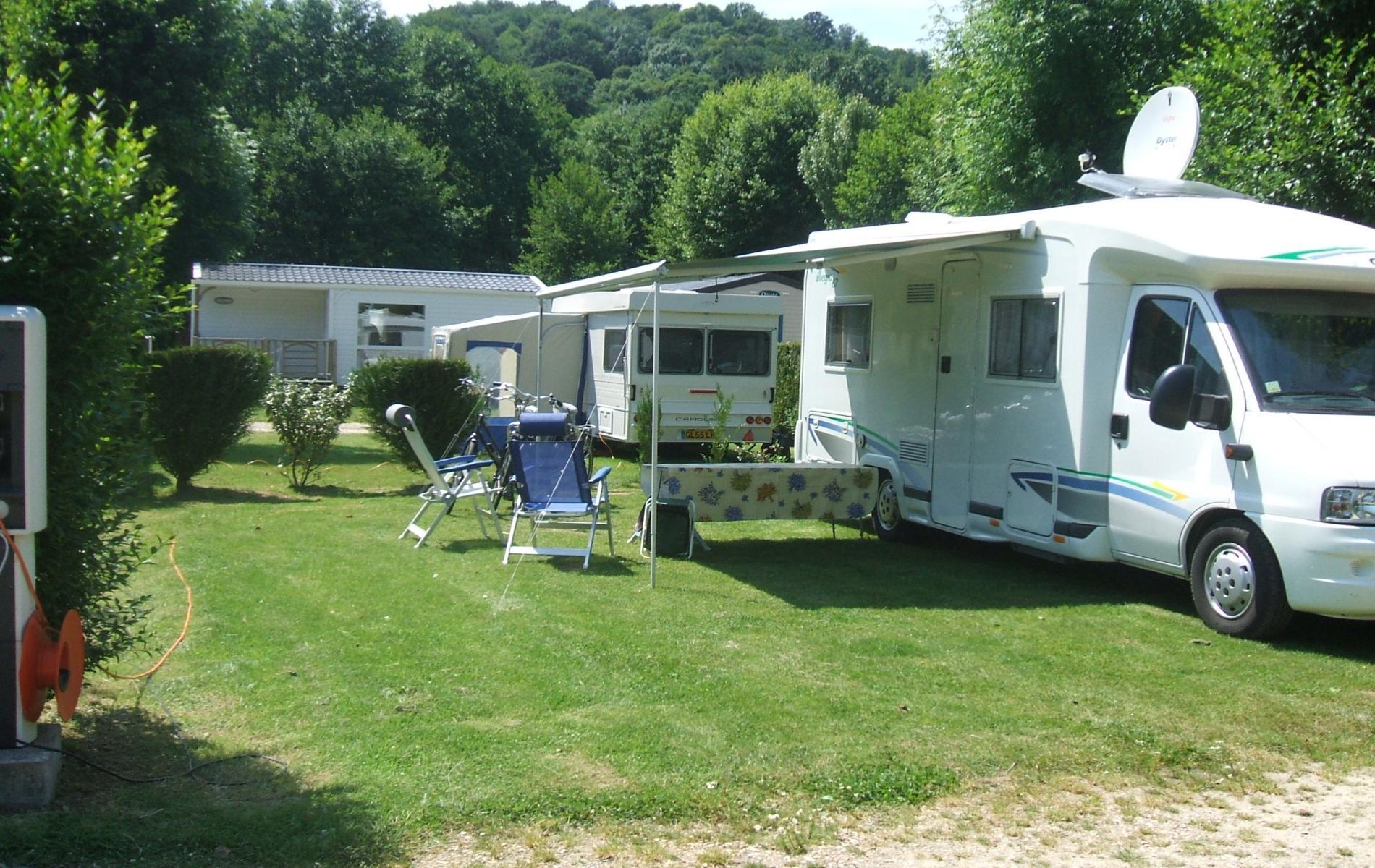 parcelle camping car ou caravane