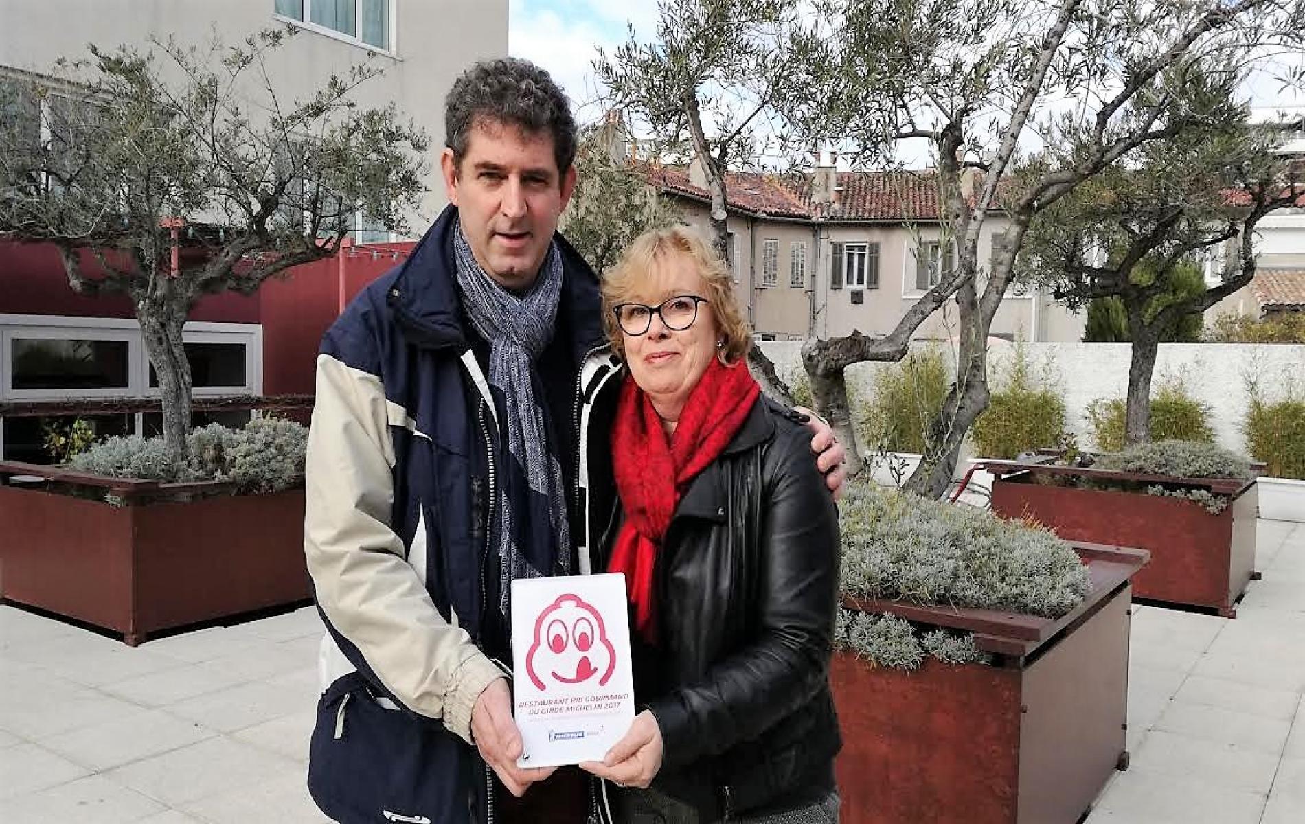 Remise du Bib Gourmand janvier 2017 Marseille Mercure le Prado