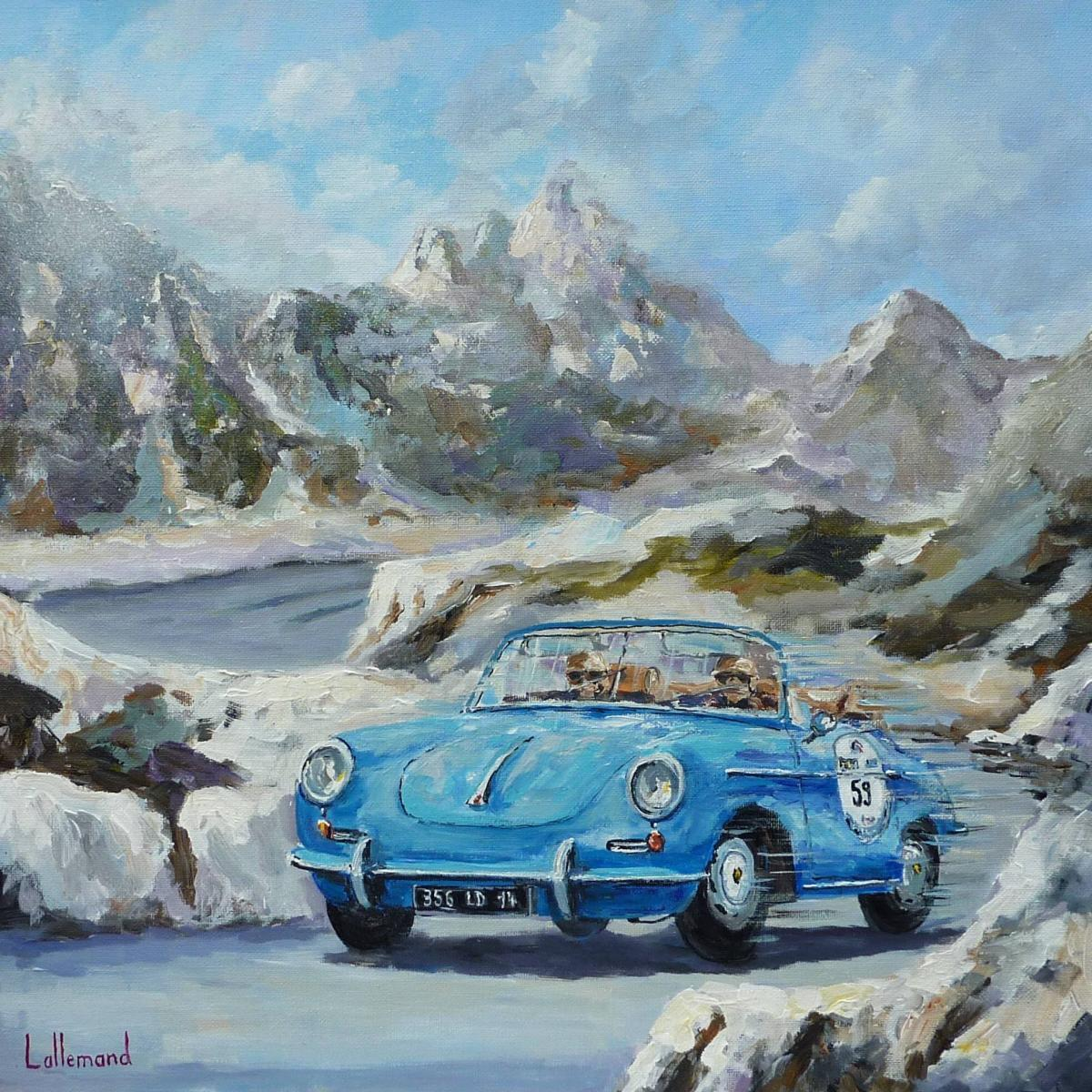 Porsche 356 dans la Coupe des Alpes