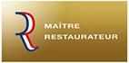 Logo Label maitre restaurateur hôtel Restaurant Burnel et la clé des Champs