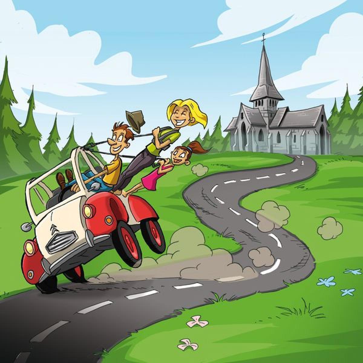 Rallye 2CV en Pays d'Auge