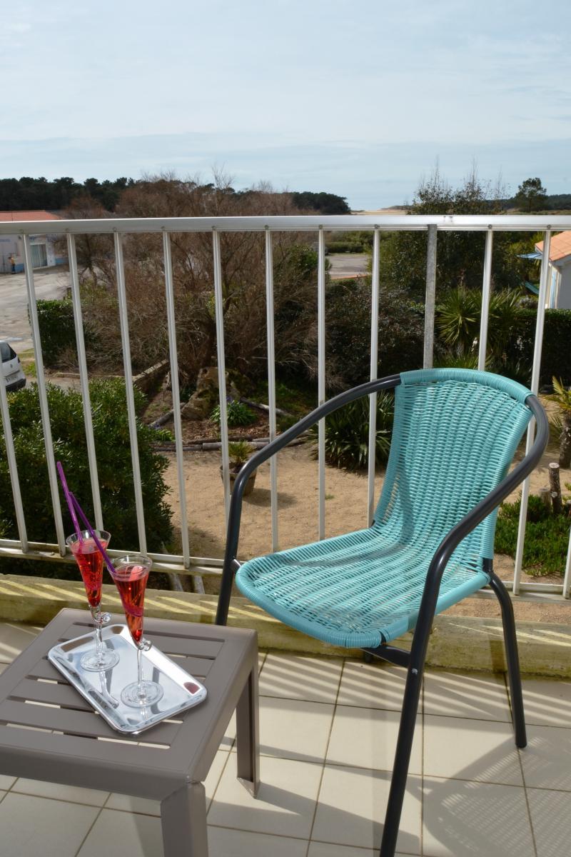 Détente sur le balcon